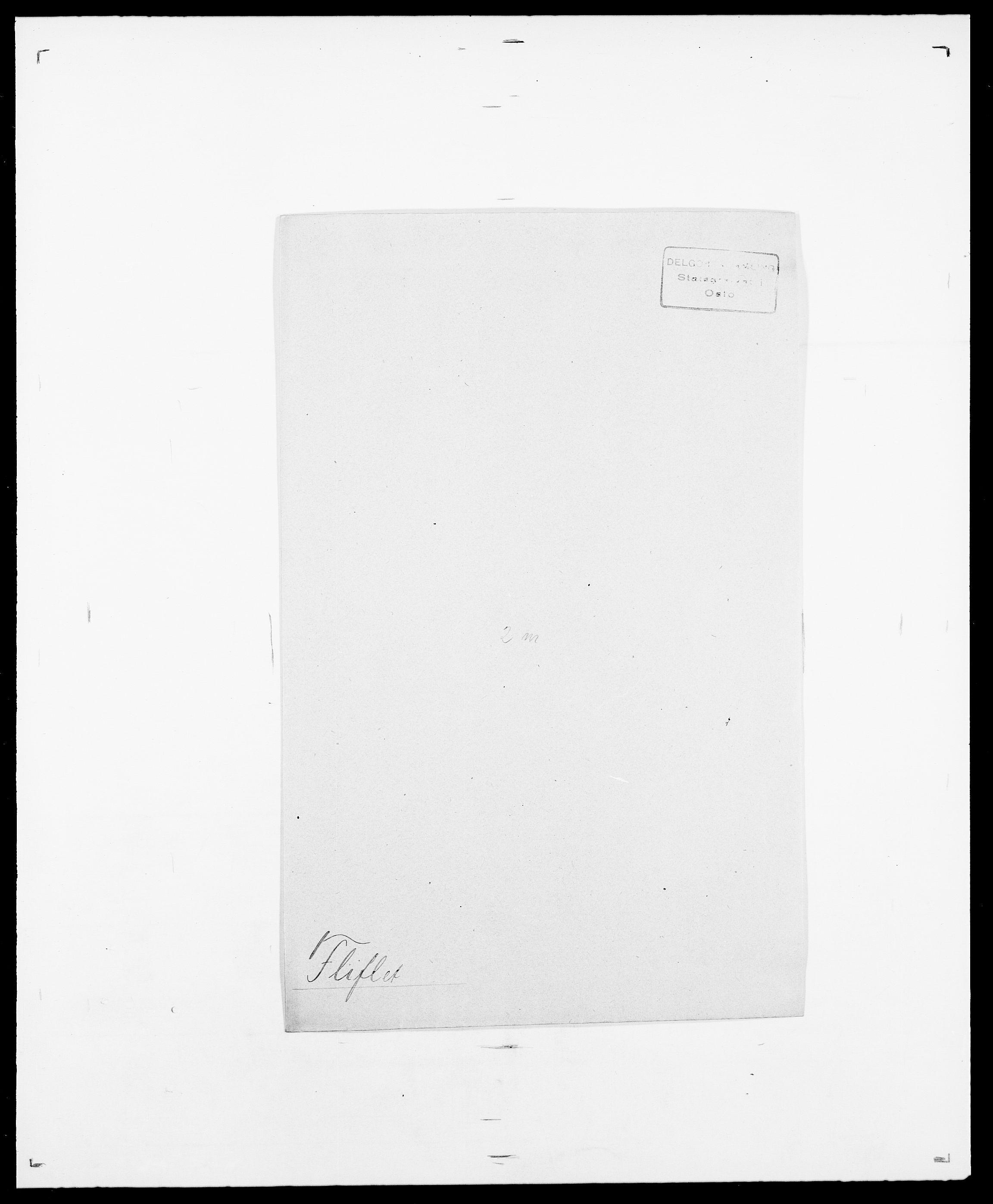 SAO, Delgobe, Charles Antoine - samling, D/Da/L0011: Fahlander - Flood, Flod, s. 633