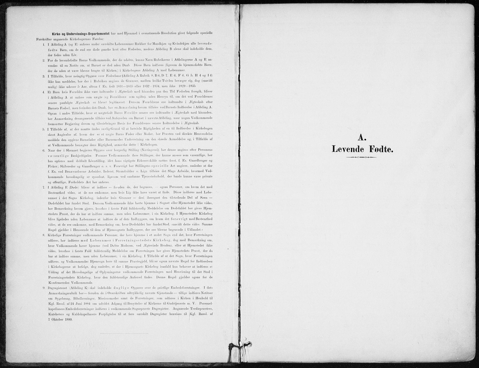 SAK, Kristiansand domprosti, F/Fa/L0019: Ministerialbok nr. A 18, 1890-1897