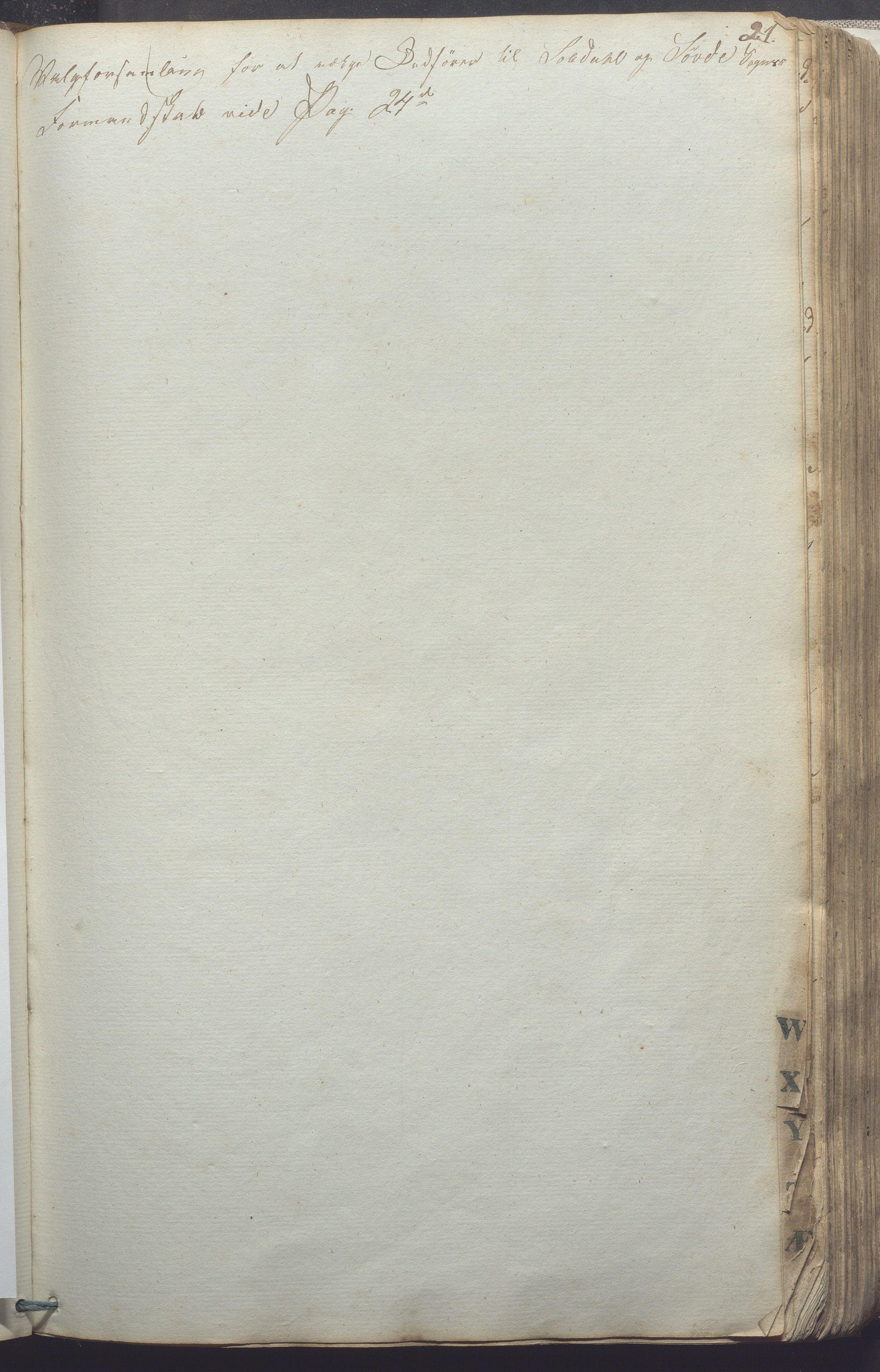 IKAR, Suldal kommune - Formannskapet/Rådmannen, A/Aa/L0001: Møtebok, 1837-1876, s. 21a