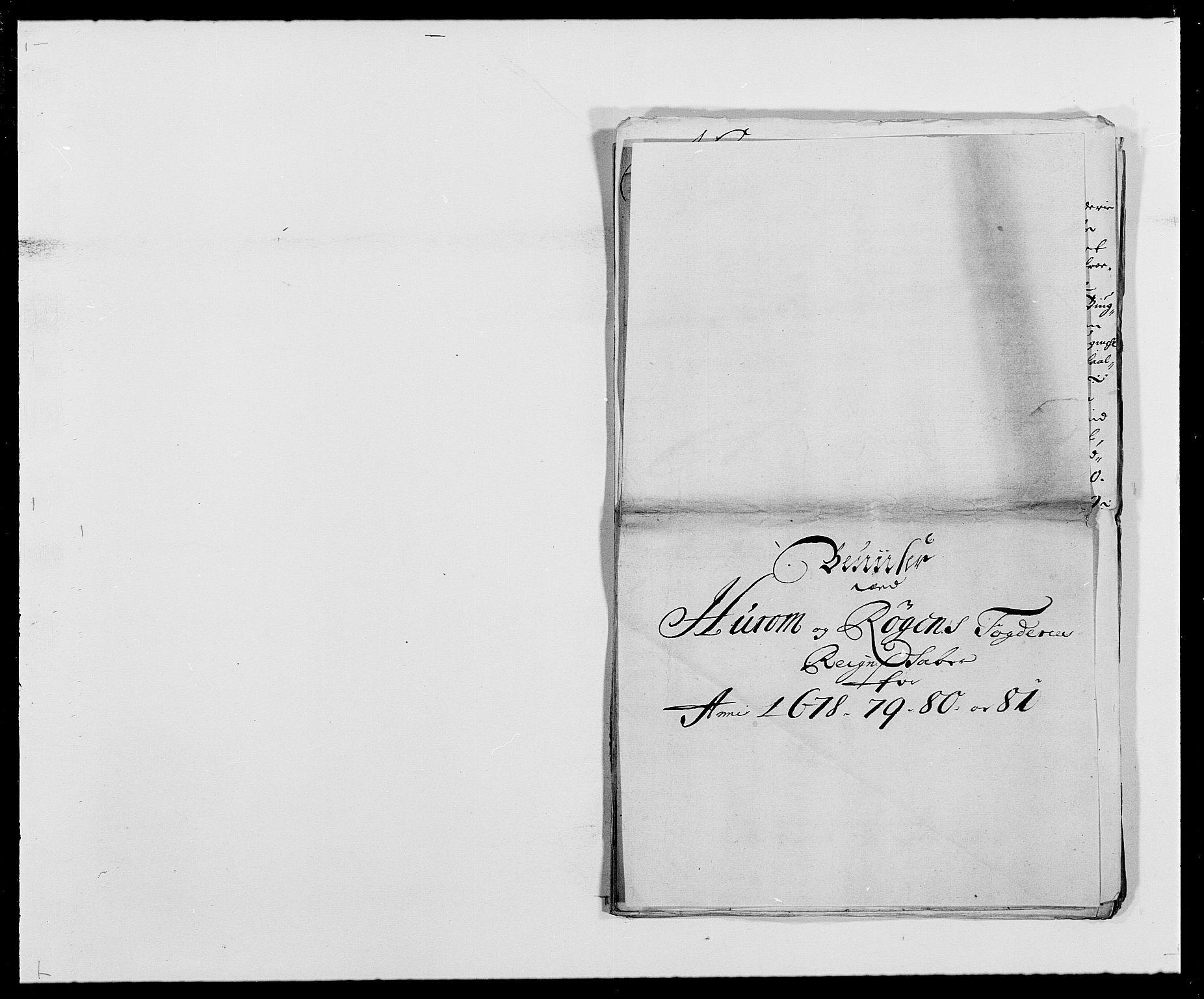 RA, Rentekammeret inntil 1814, Reviderte regnskaper, Fogderegnskap, R29/L1691: Fogderegnskap Hurum og Røyken, 1678-1681, s. 416