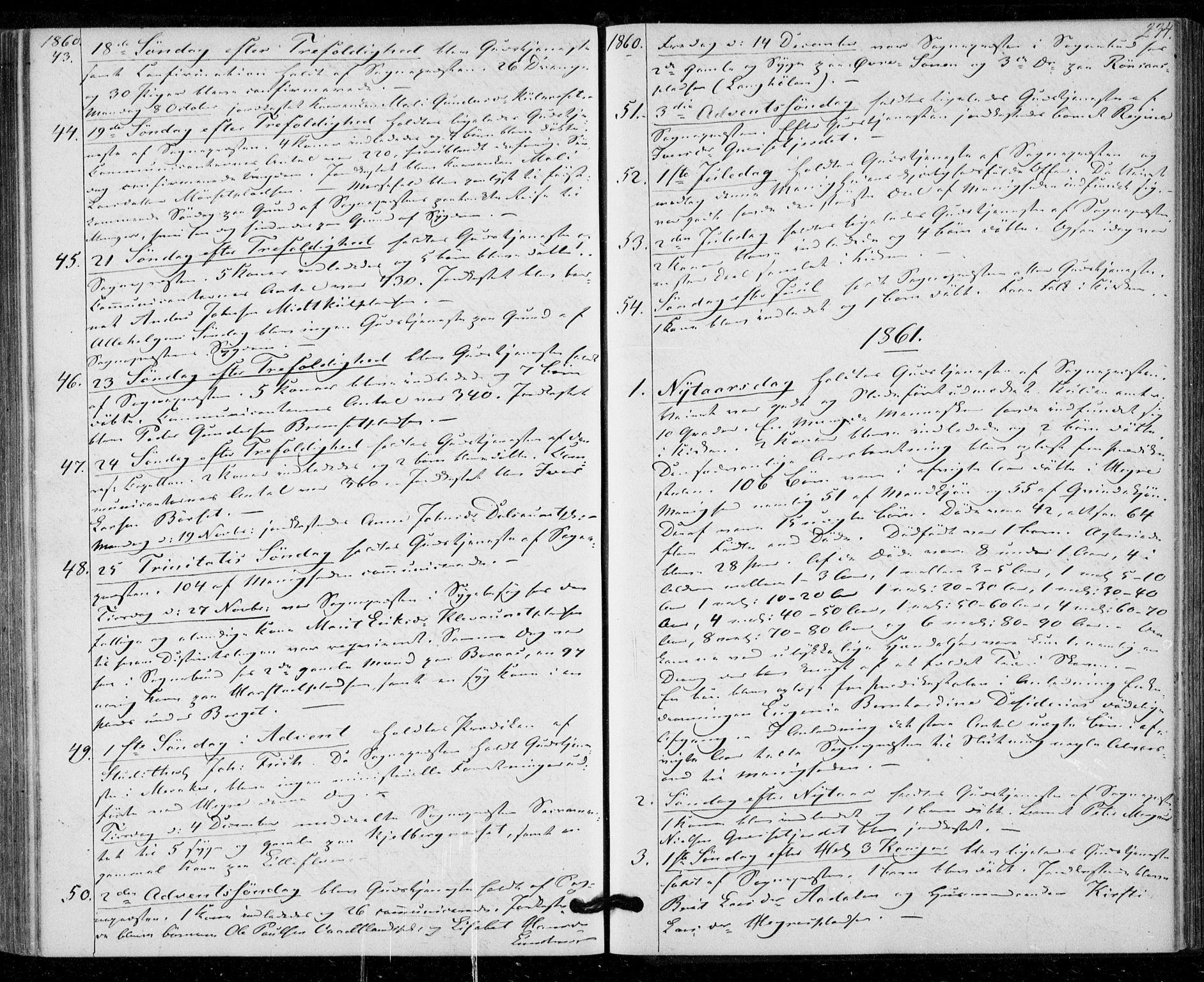 SAT, Ministerialprotokoller, klokkerbøker og fødselsregistre - Nord-Trøndelag, 703/L0028: Ministerialbok nr. 703A01, 1850-1862, s. 234