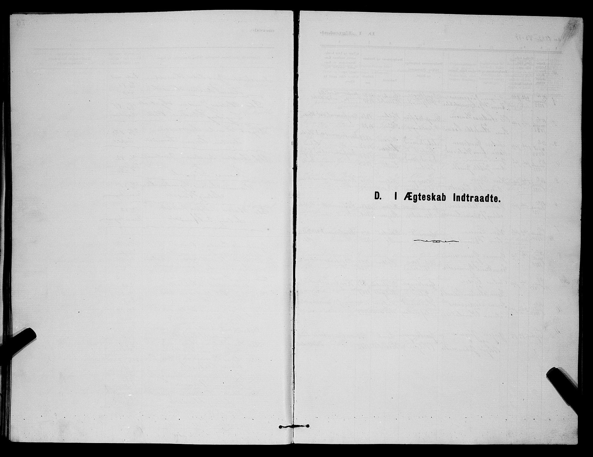 SAKO, Holla kirkebøker, G/Gb/L0001: Klokkerbok nr. II 1, 1882-1897