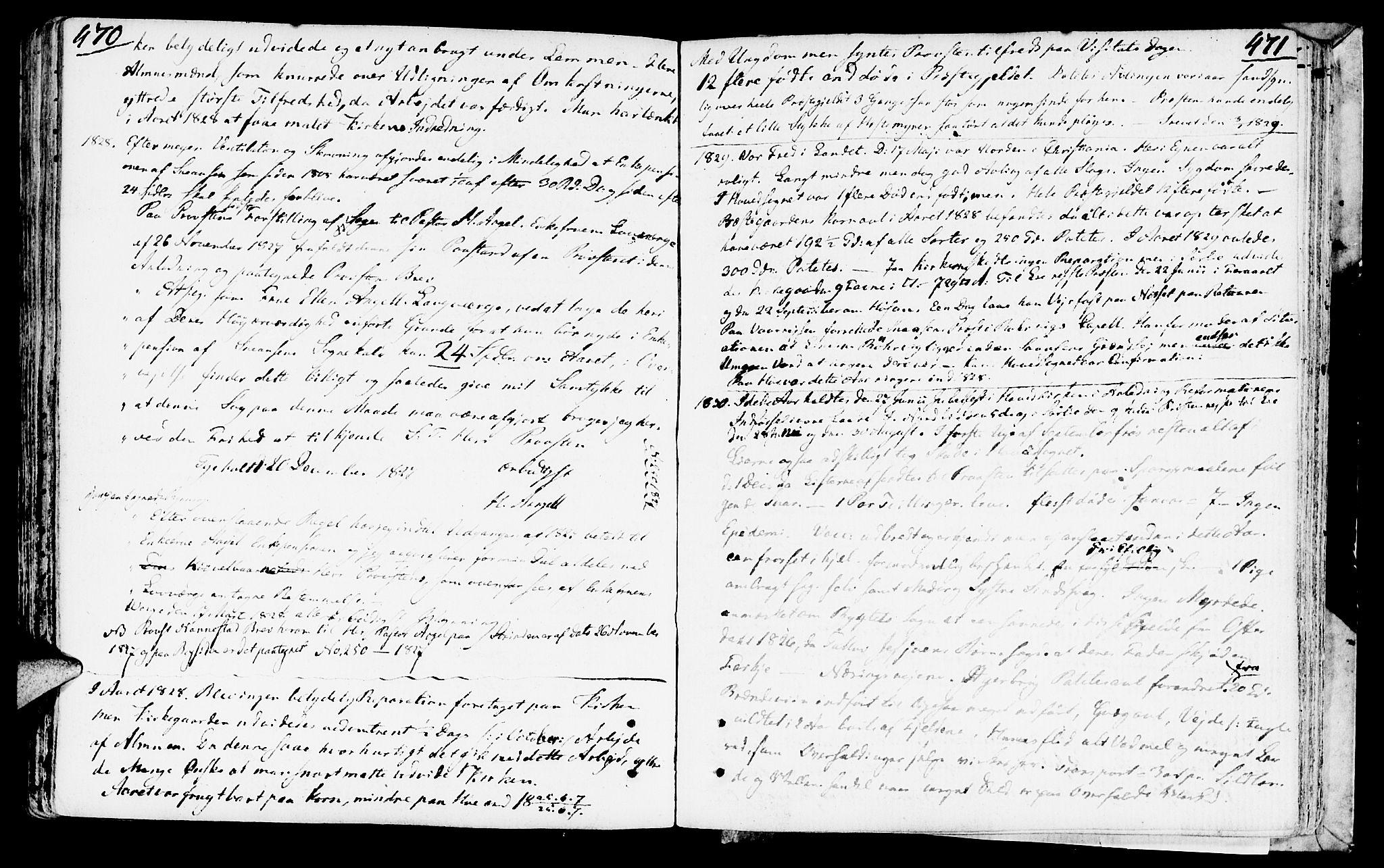 SAT, Ministerialprotokoller, klokkerbøker og fødselsregistre - Nord-Trøndelag, 749/L0468: Ministerialbok nr. 749A02, 1787-1817, s. 470-471