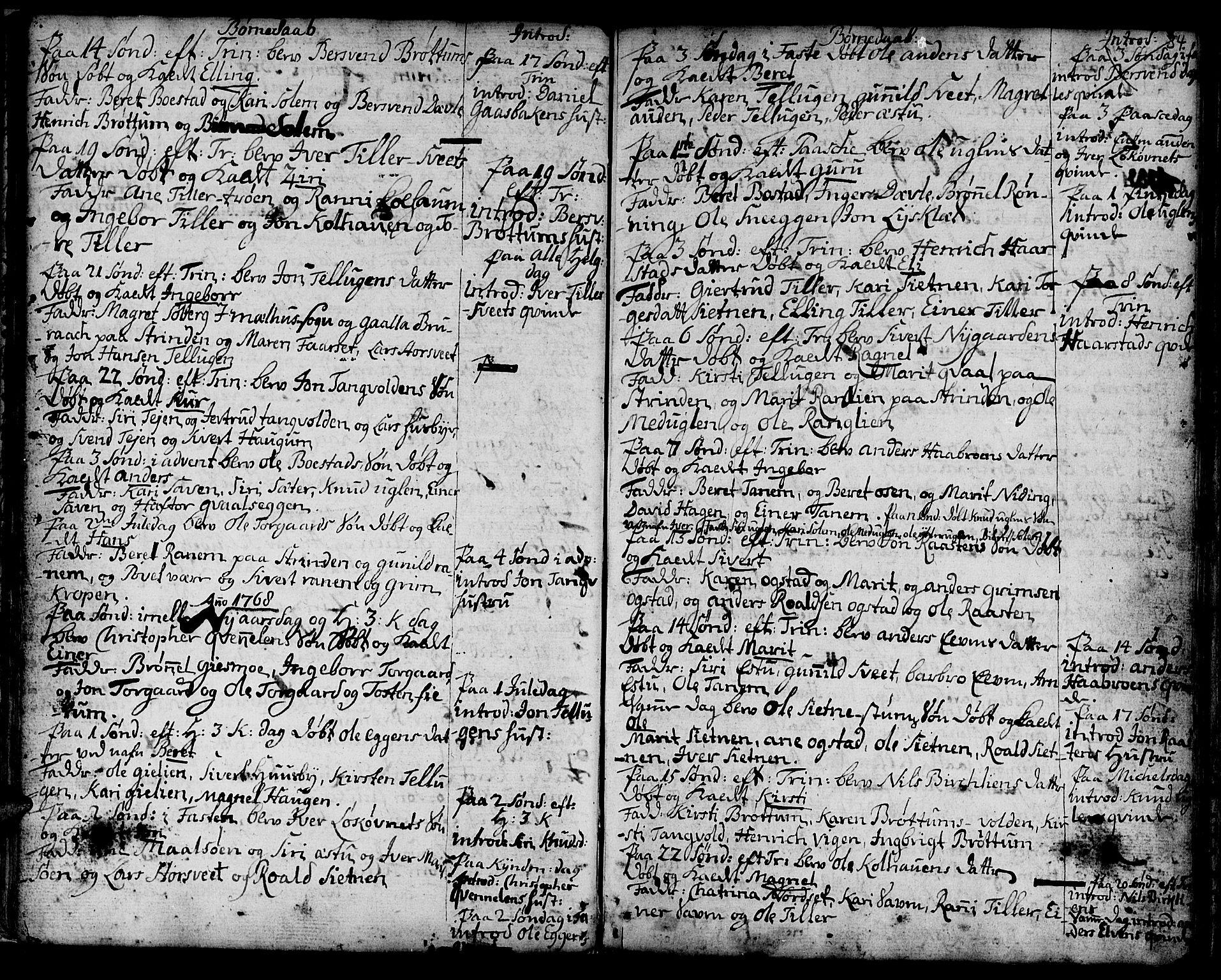 SAT, Ministerialprotokoller, klokkerbøker og fødselsregistre - Sør-Trøndelag, 618/L0437: Ministerialbok nr. 618A02, 1749-1782, s. 34