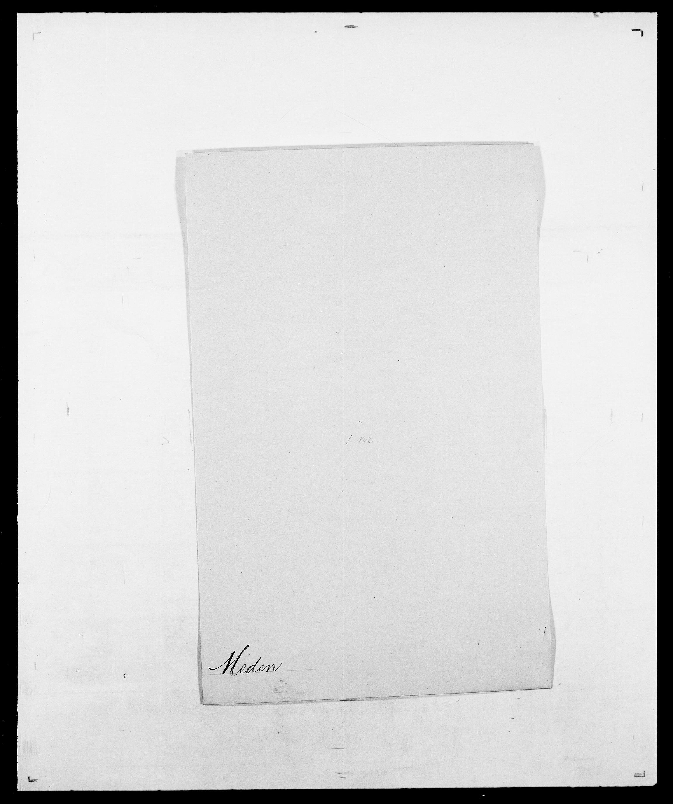 SAO, Delgobe, Charles Antoine - samling, D/Da/L0026: Mechelby - Montoppidan, s. 97