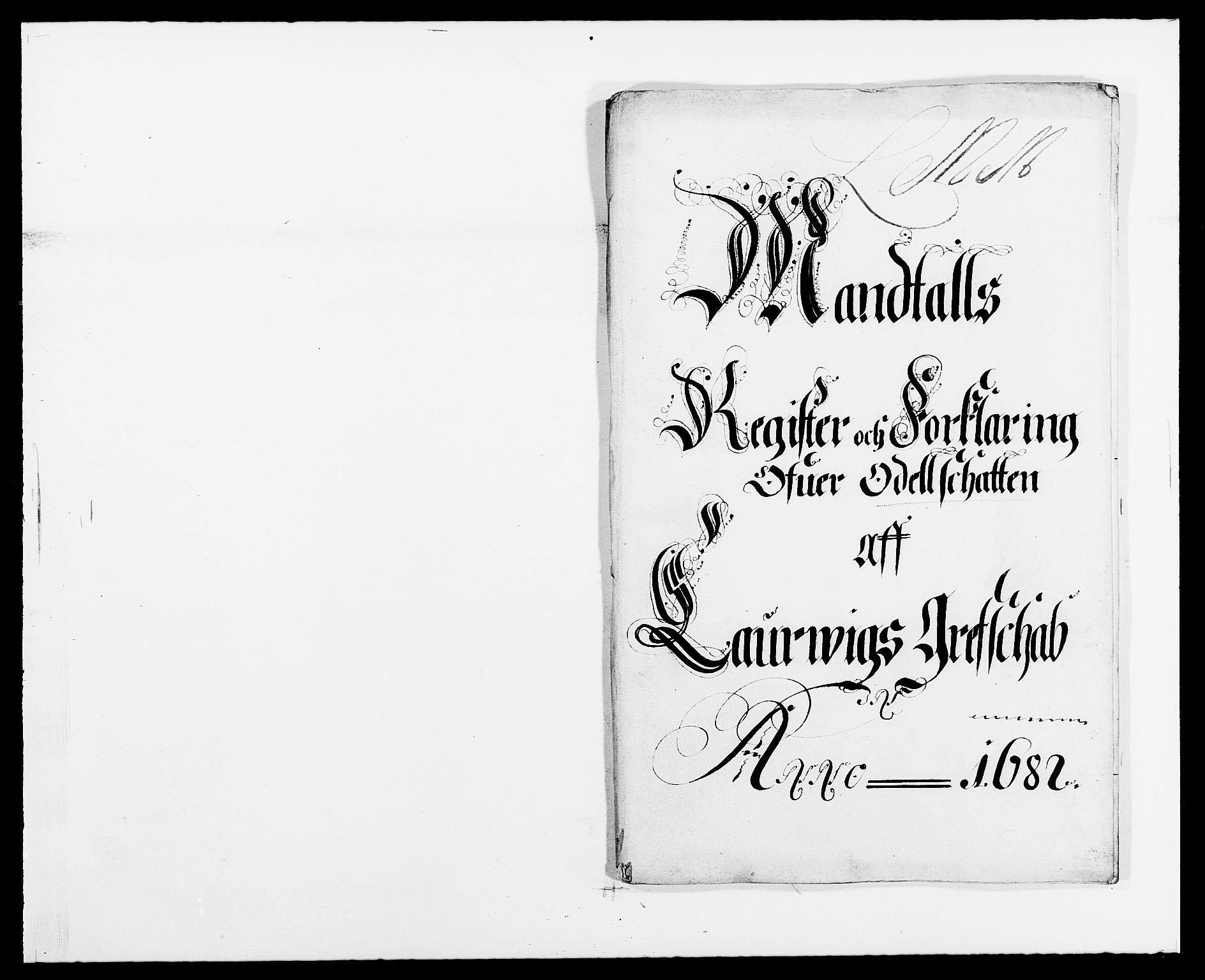 RA, Rentekammeret inntil 1814, Reviderte regnskaper, Fogderegnskap, R33/L1969: Fogderegnskap Larvik grevskap, 1675-1687, s. 132