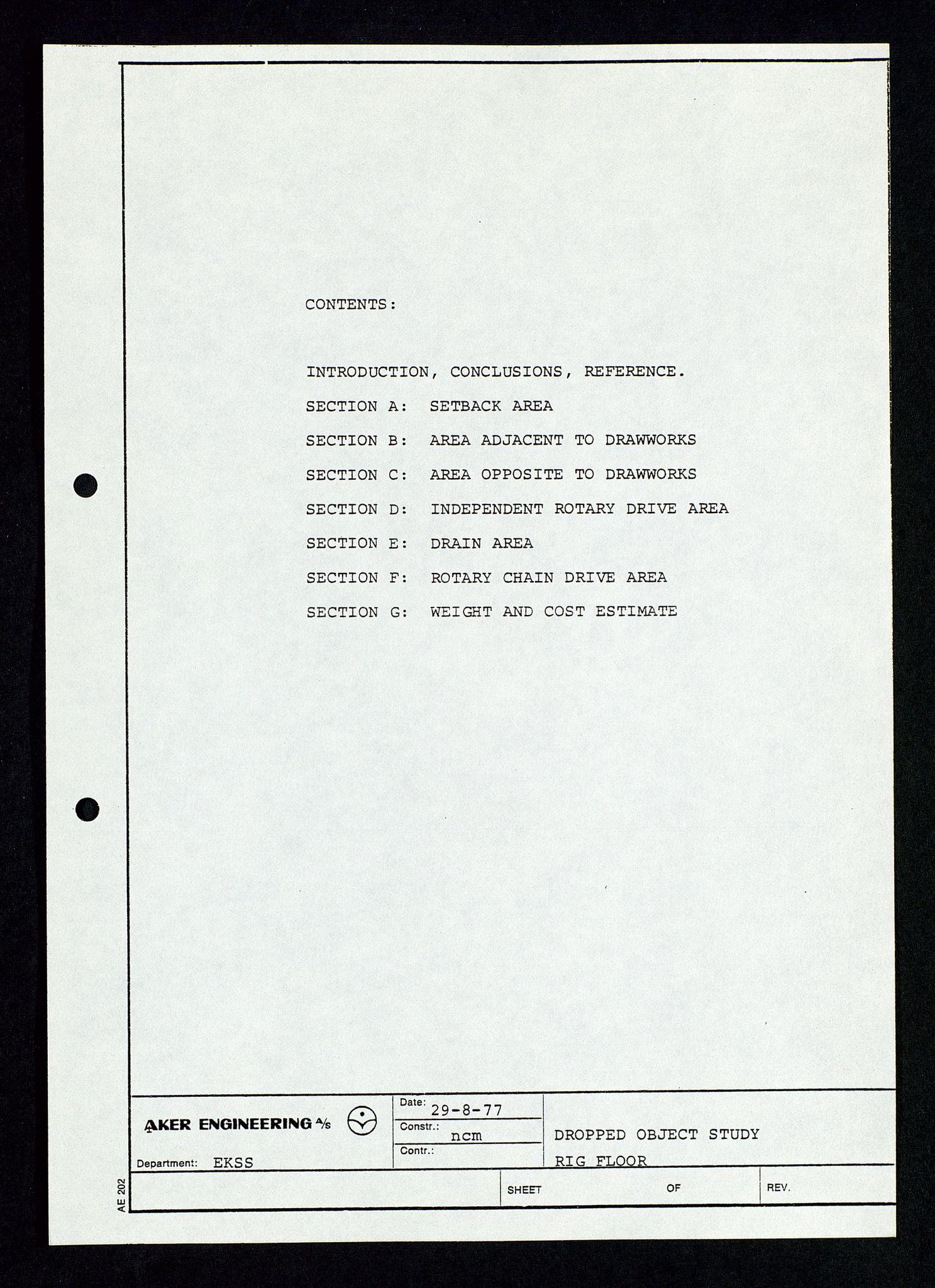 SAST, Pa 1339 - Statoil ASA, D/Dm/L0348: Gravitasjonsplattform betong, 1975-1978, s. 125