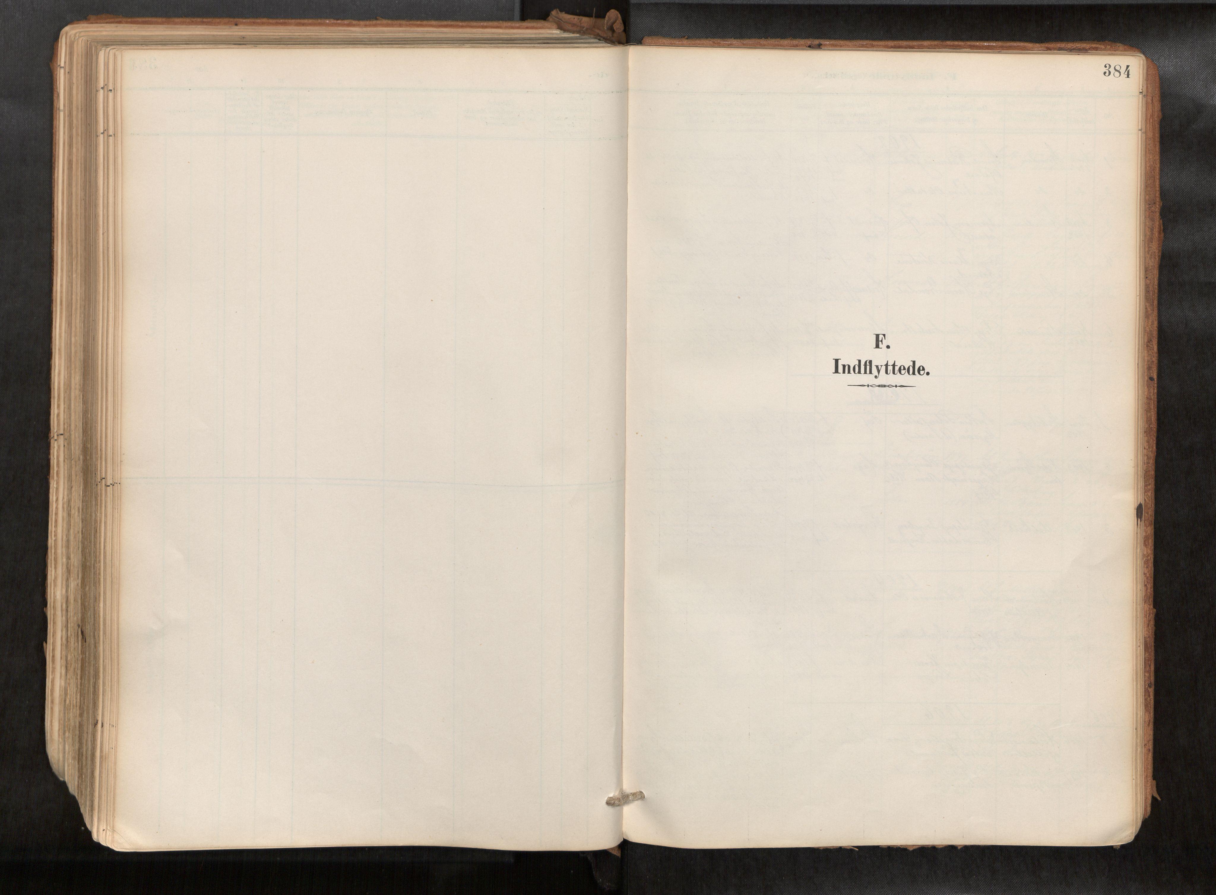 SAT, Ministerialprotokoller, klokkerbøker og fødselsregistre - Sør-Trøndelag, 692/L1105b: Ministerialbok nr. 692A06, 1891-1934, s. 384