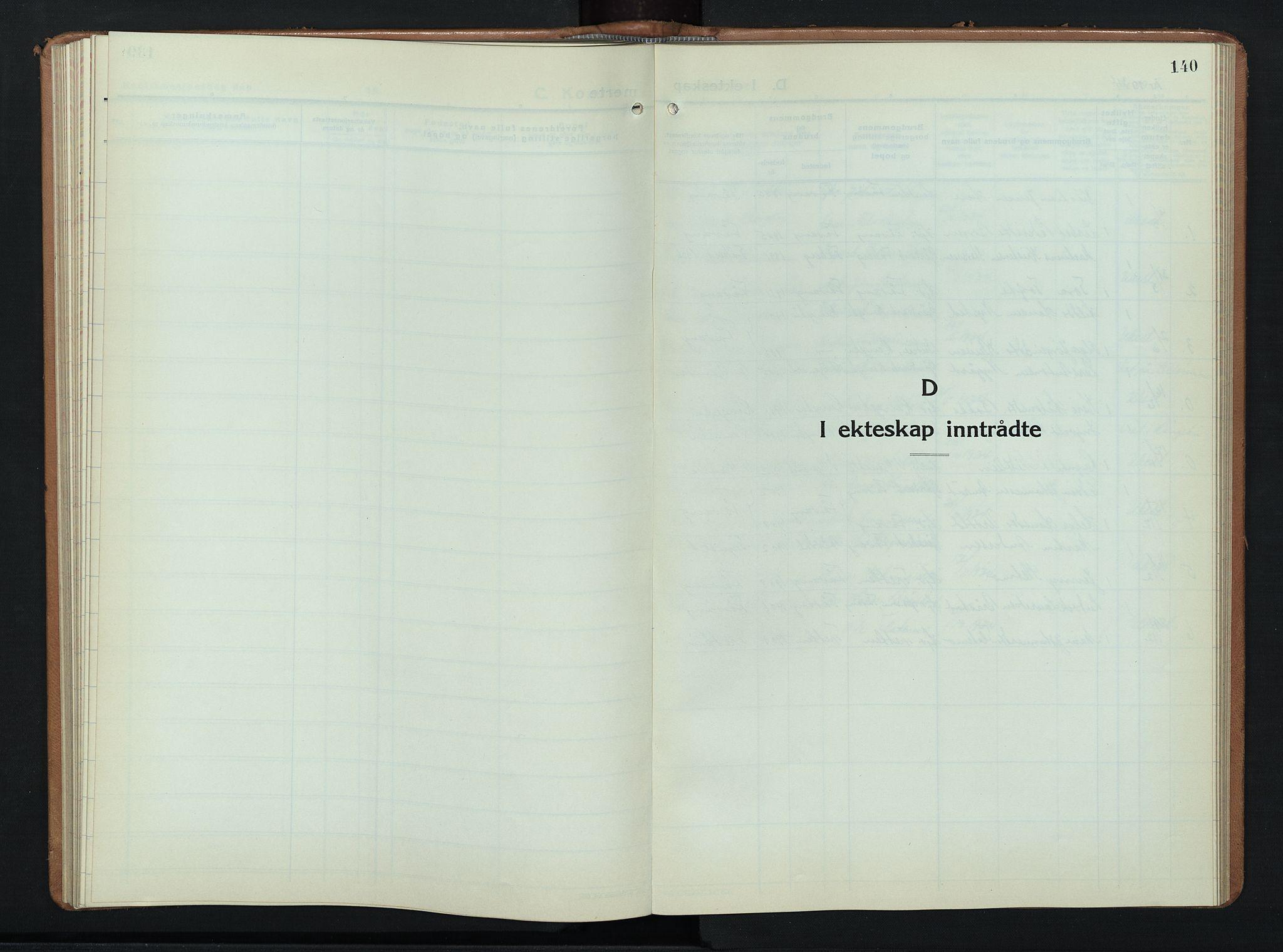 SAH, Ringebu prestekontor, Klokkerbok nr. 12, 1934-1949, s. 140