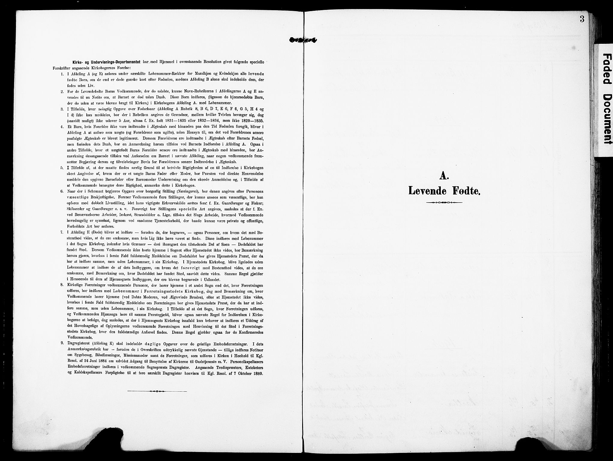 SAST, Torvastad sokneprestkontor, H/Ha/Haa/L0018: Ministerialbok nr. A 17, 1903-1925, s. 3