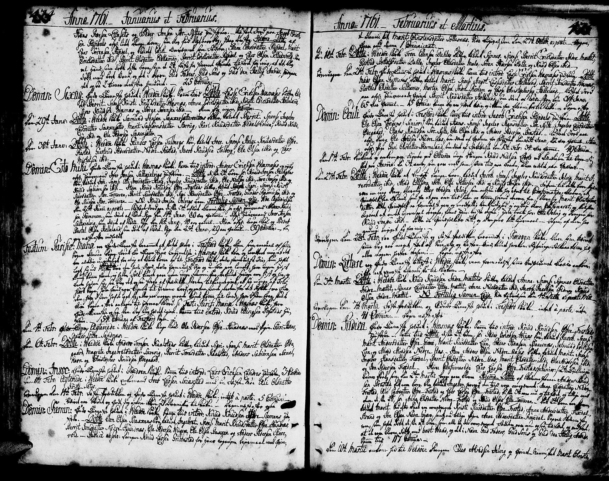 SAT, Ministerialprotokoller, klokkerbøker og fødselsregistre - Møre og Romsdal, 547/L0599: Ministerialbok nr. 547A01, 1721-1764, s. 474-475