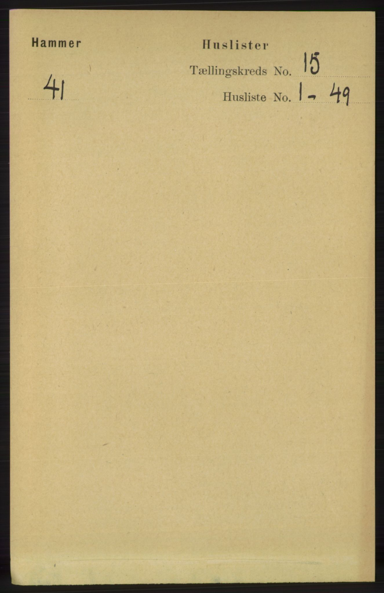 RA, Folketelling 1891 for 1254 Hamre herred, 1891, s. 4638