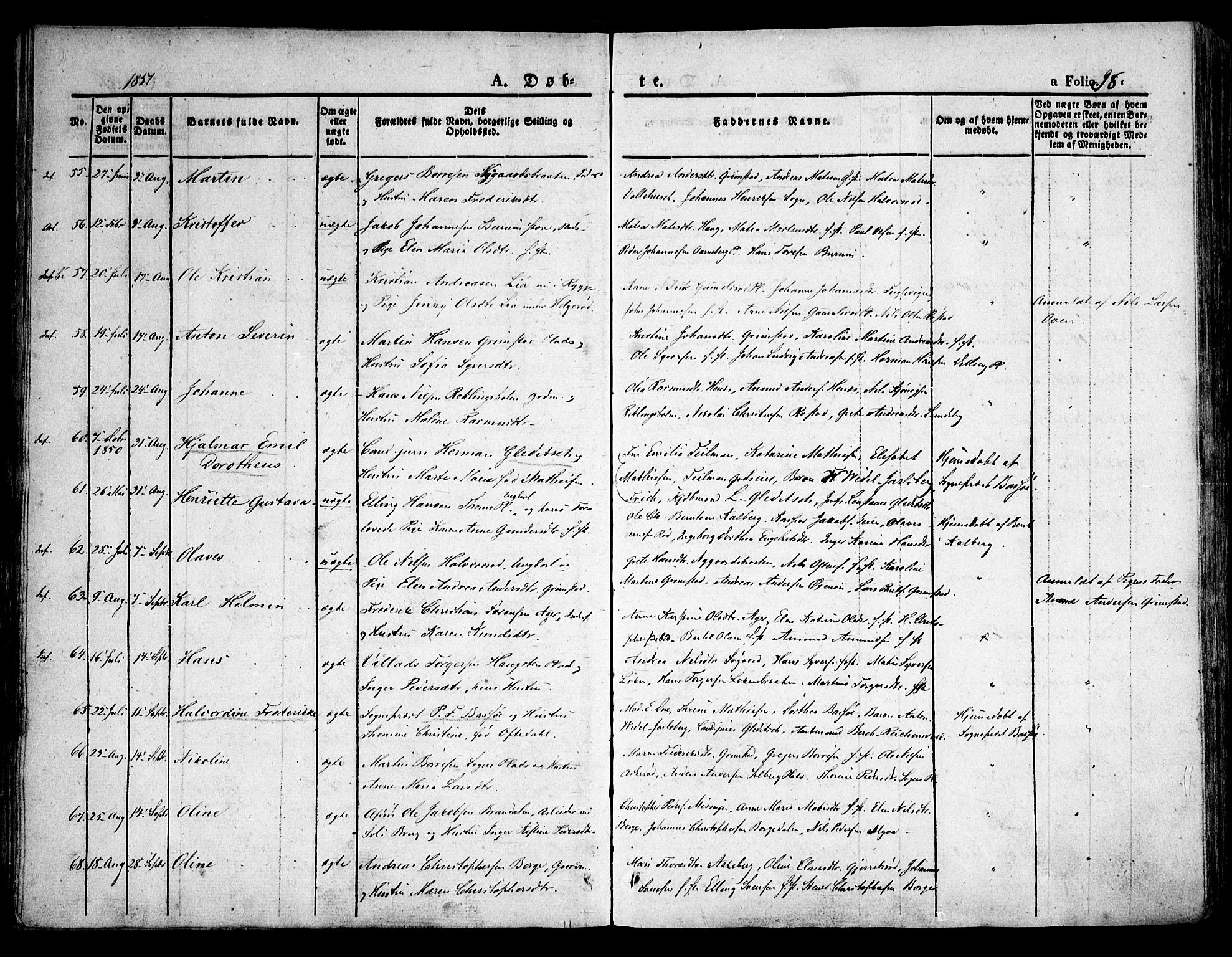 SAO, Råde prestekontor kirkebøker, F/Fa/L0005: Ministerialbok nr. 5, 1830-1853, s. 98