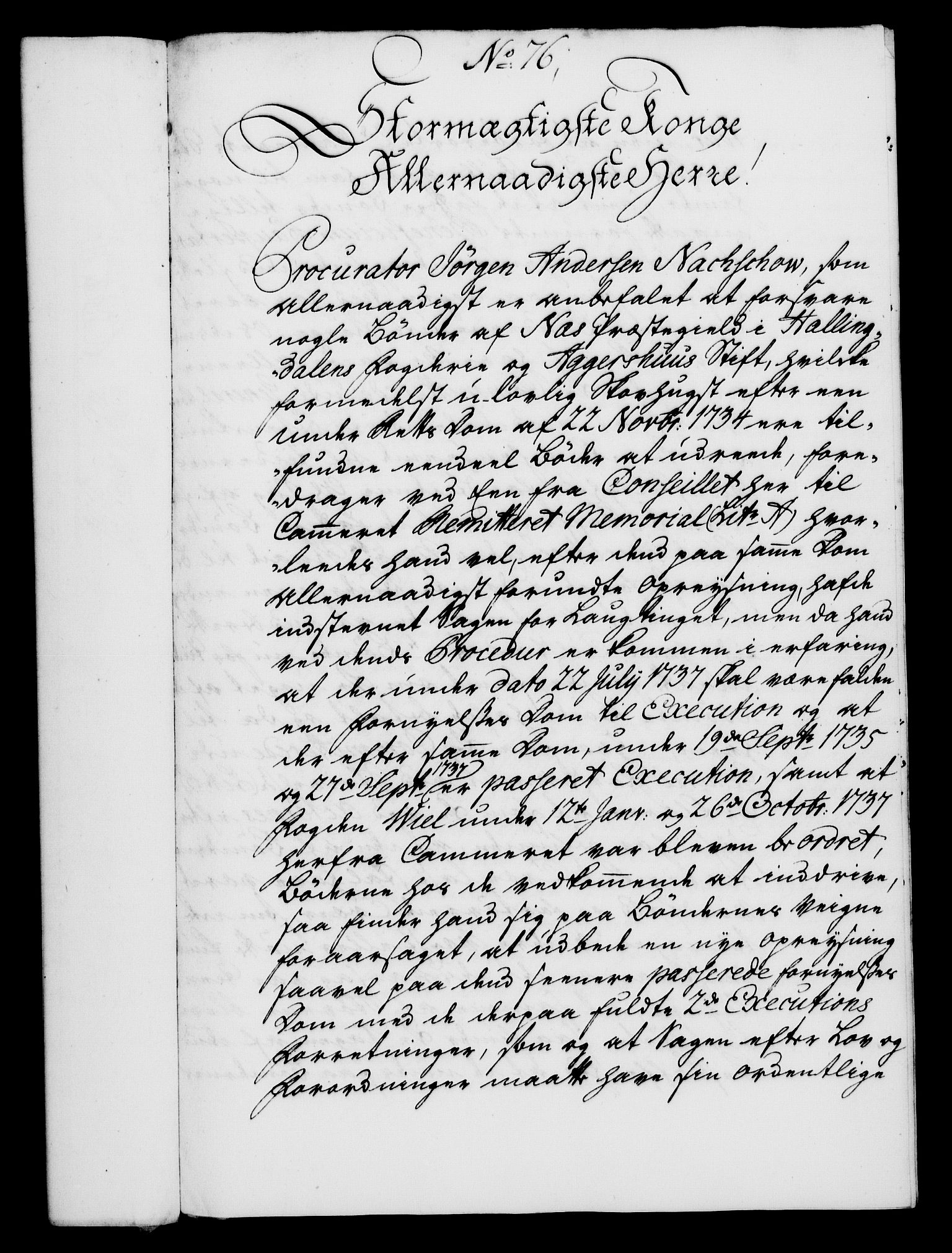RA, Rentekammeret, Kammerkanselliet, G/Gf/Gfa/L0026: Norsk relasjons- og resolusjonsprotokoll (merket RK 52.26), 1743, s. 499
