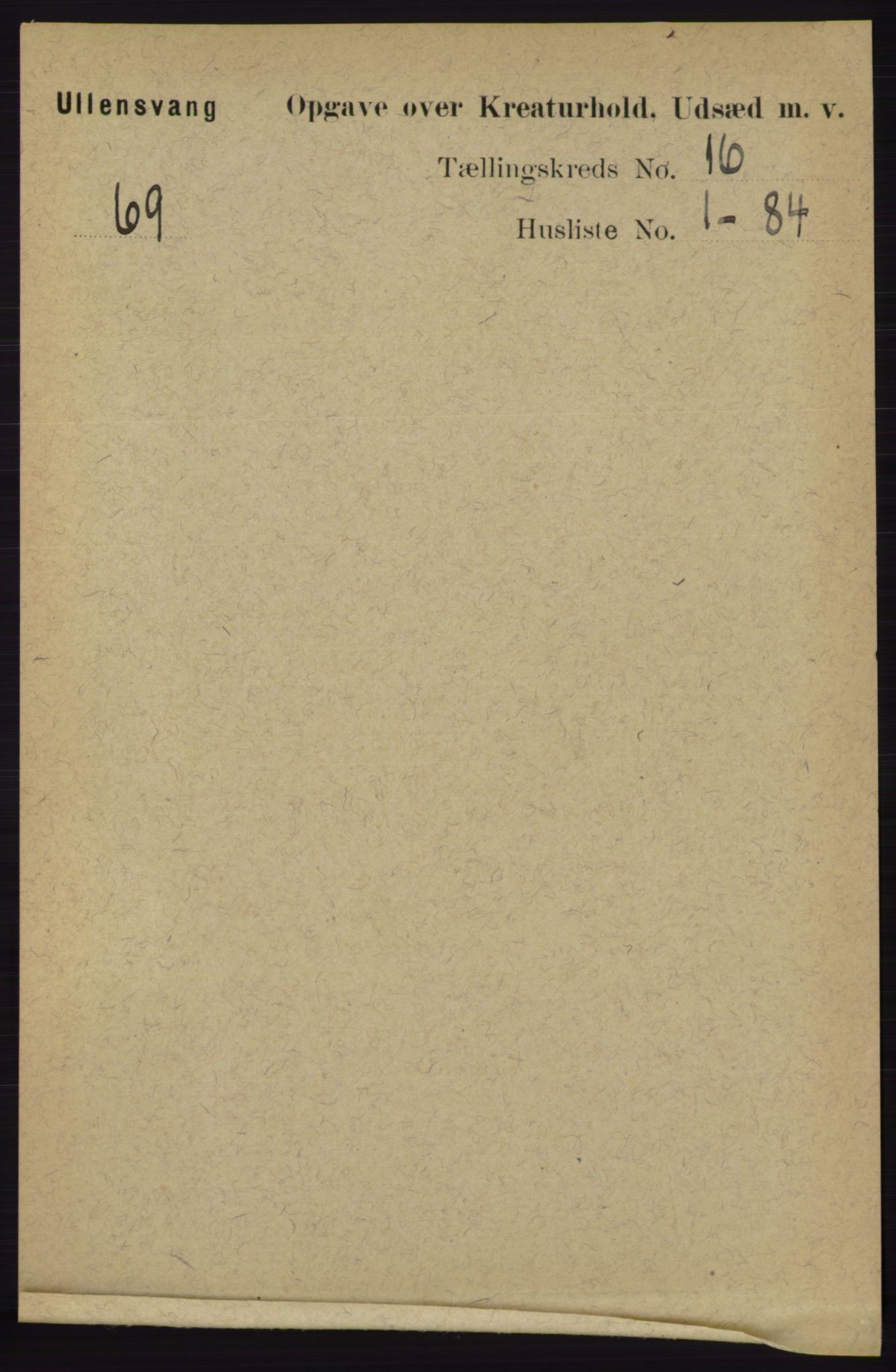 RA, Folketelling 1891 for 1230 Ullensvang herred, 1891, s. 8513