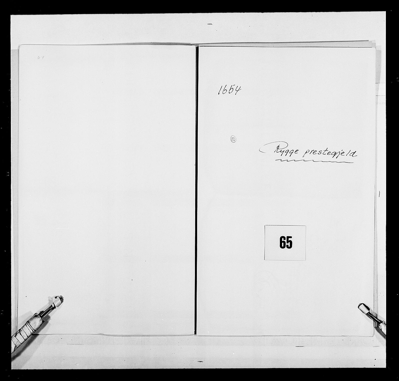 RA, Stattholderembetet 1572-1771, Ek/L0030: Jordebøker 1633-1658:, 1654, s. 306