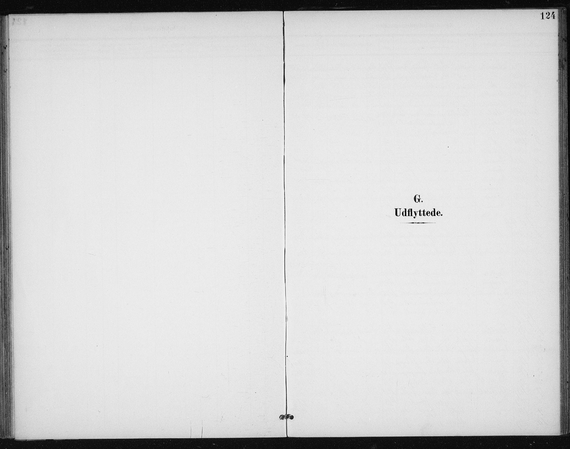 SAT, Ministerialprotokoller, klokkerbøker og fødselsregistre - Sør-Trøndelag, 612/L0380: Ministerialbok nr. 612A12, 1898-1907, s. 124
