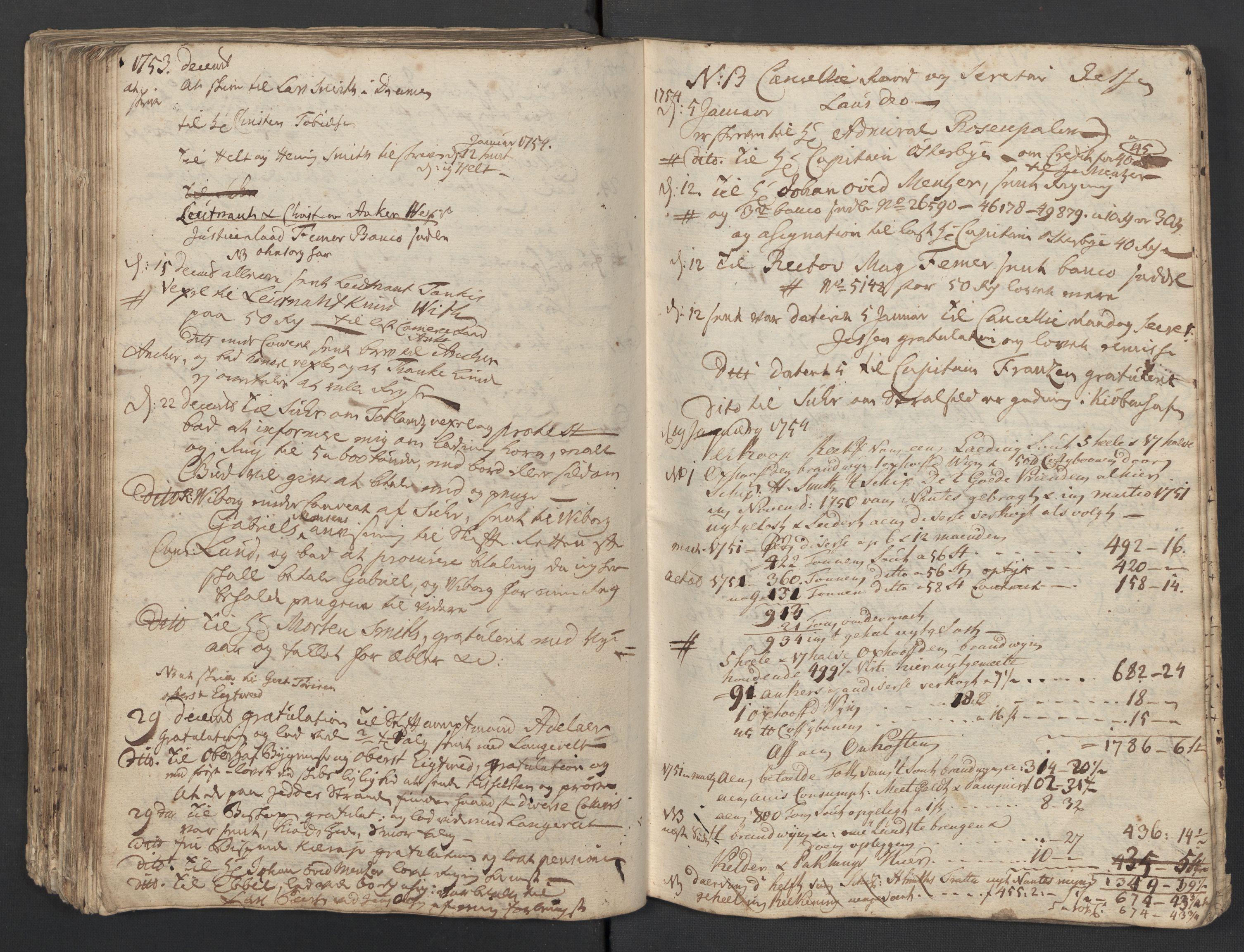 SAST, Pa 0119 - Smith, Lauritz Andersen og Lauritz Lauritzen, O/L0001: Kopibøker m.m., 1746-1755, s. 175