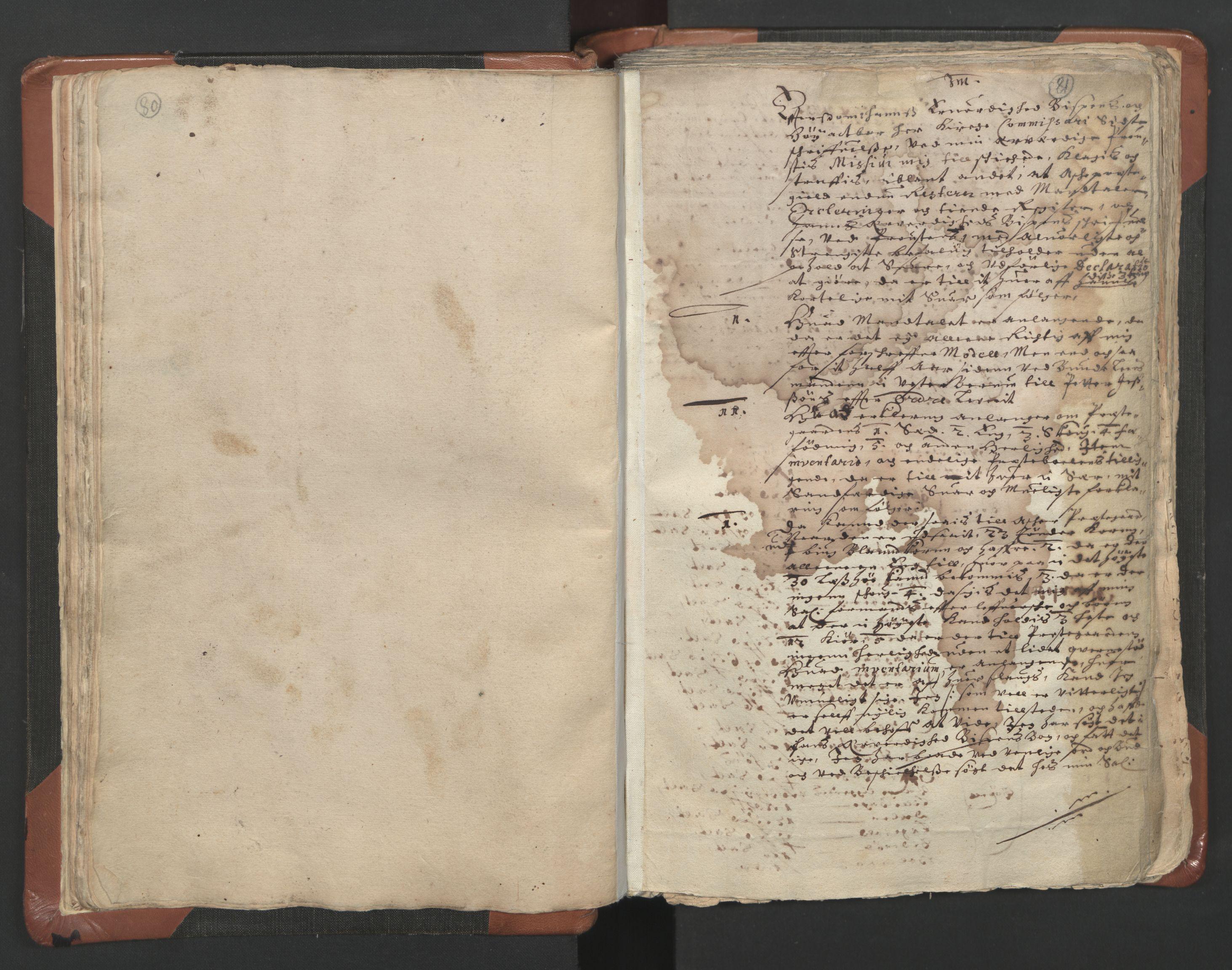 RA, Sogneprestenes manntall 1664-1666, nr. 9: Bragernes prosti, 1664-1666, s. 80-81