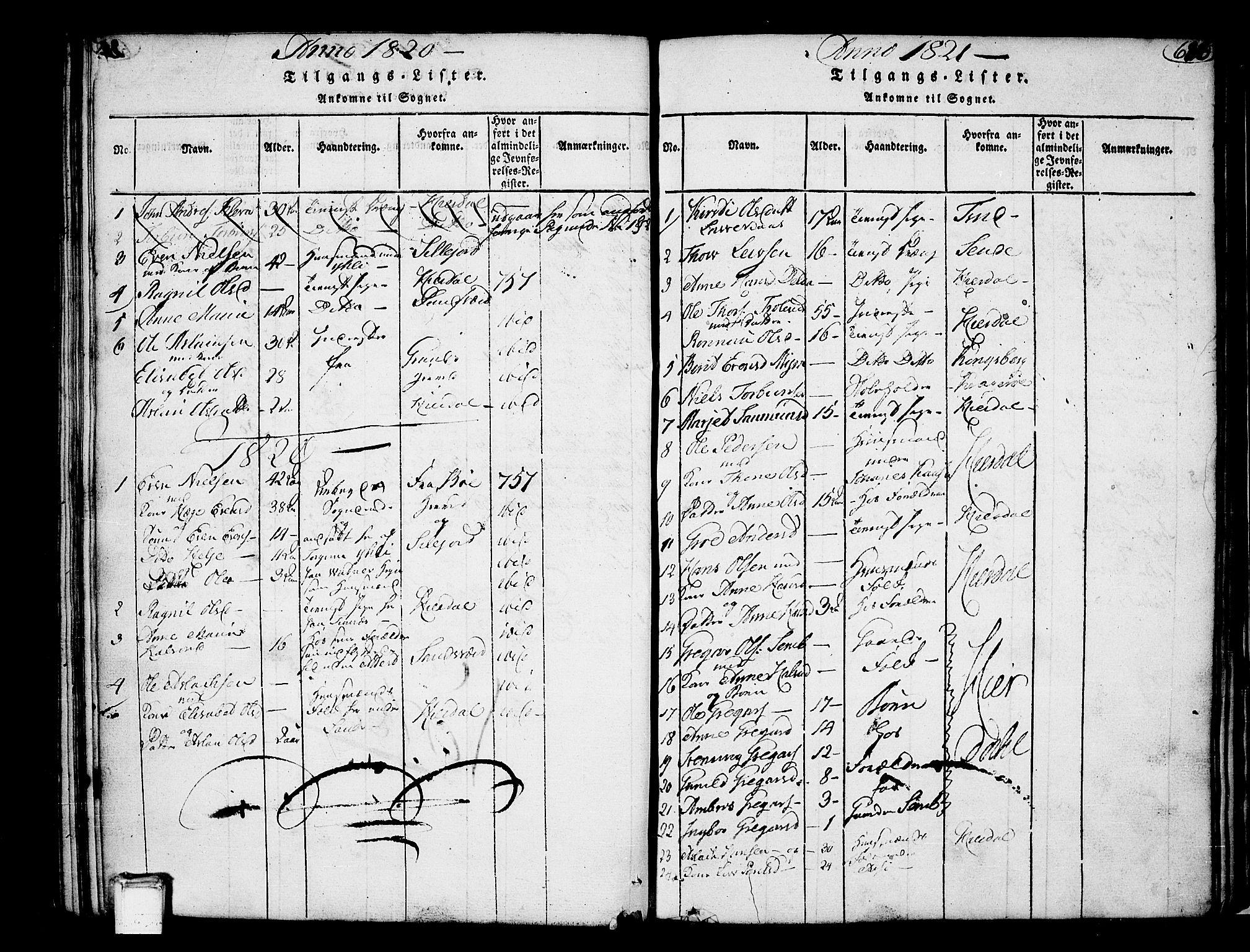 SAKO, Heddal kirkebøker, F/Fa/L0005: Ministerialbok nr. I 5, 1814-1837, s. 625-626