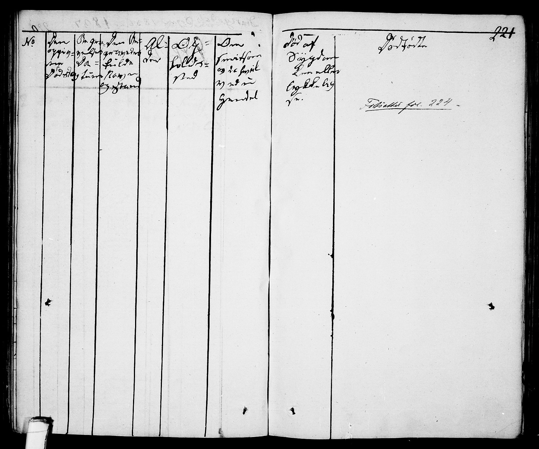 SAKO, Drangedal kirkebøker, F/Fa/L0006: Ministerialbok nr. 6, 1831-1837, s. 221
