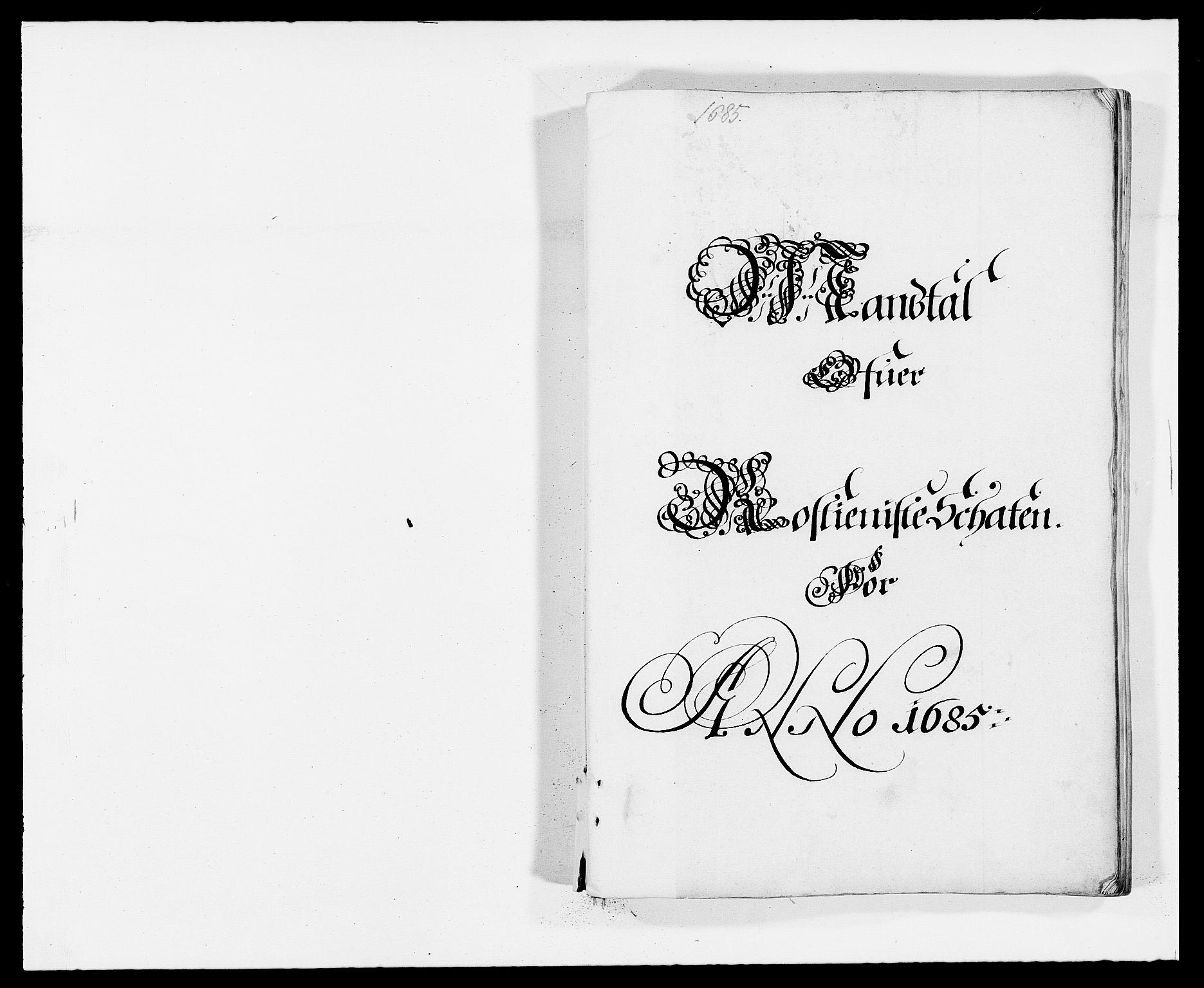 RA, Rentekammeret inntil 1814, Reviderte regnskaper, Fogderegnskap, R32/L1856: Fogderegnskap Jarlsberg grevskap, 1685, s. 231