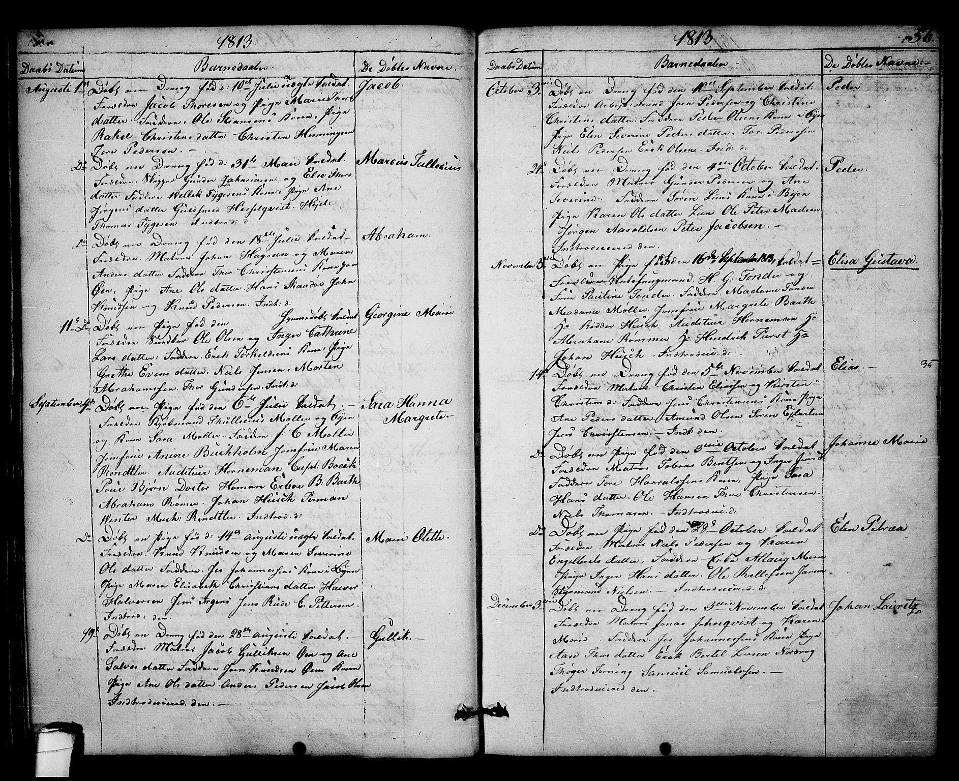SAKO, Kragerø kirkebøker, F/Fa/L0003: Ministerialbok nr. 3, 1802-1813, s. 56
