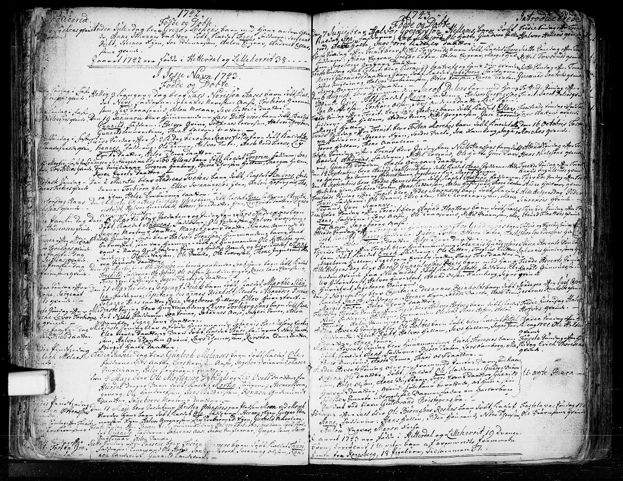 SAKO, Heddal kirkebøker, F/Fa/L0003: Ministerialbok nr. I 3, 1723-1783, s. 58