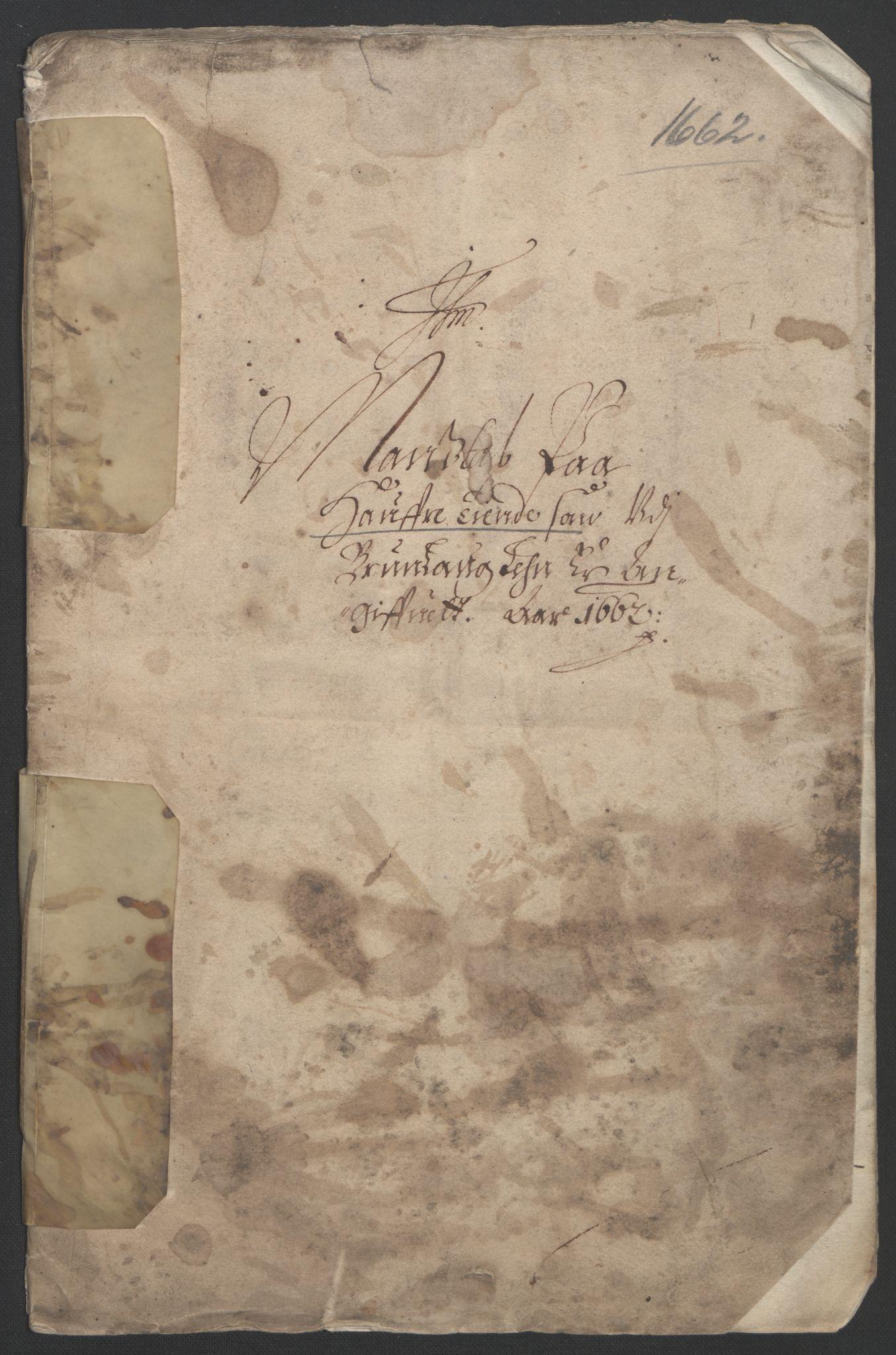 RA, Rentekammeret inntil 1814, Reviderte regnskaper, Fogderegnskap, R33/L1963: Fogderegnskap Larvik grevskap, 1662-1664, s. 73