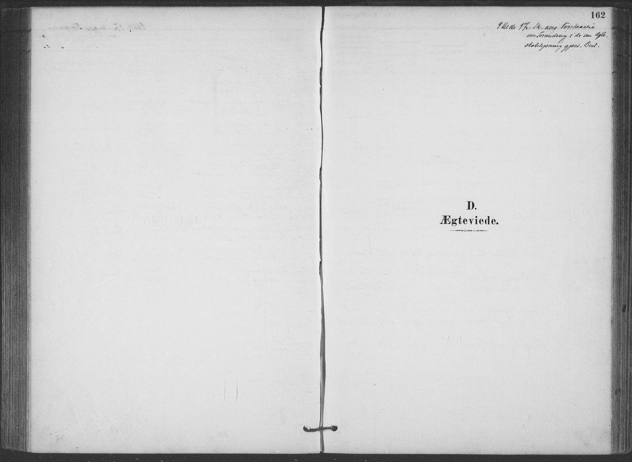 SAKO, Hjartdal kirkebøker, F/Fa/L0010: Ministerialbok nr. I 10, 1880-1929, s. 162