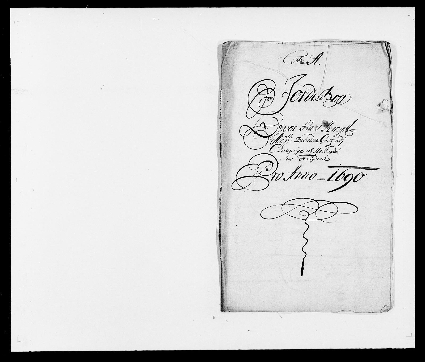 RA, Rentekammeret inntil 1814, Reviderte regnskaper, Fogderegnskap, R21/L1448: Fogderegnskap Ringerike og Hallingdal, 1690-1692, s. 13