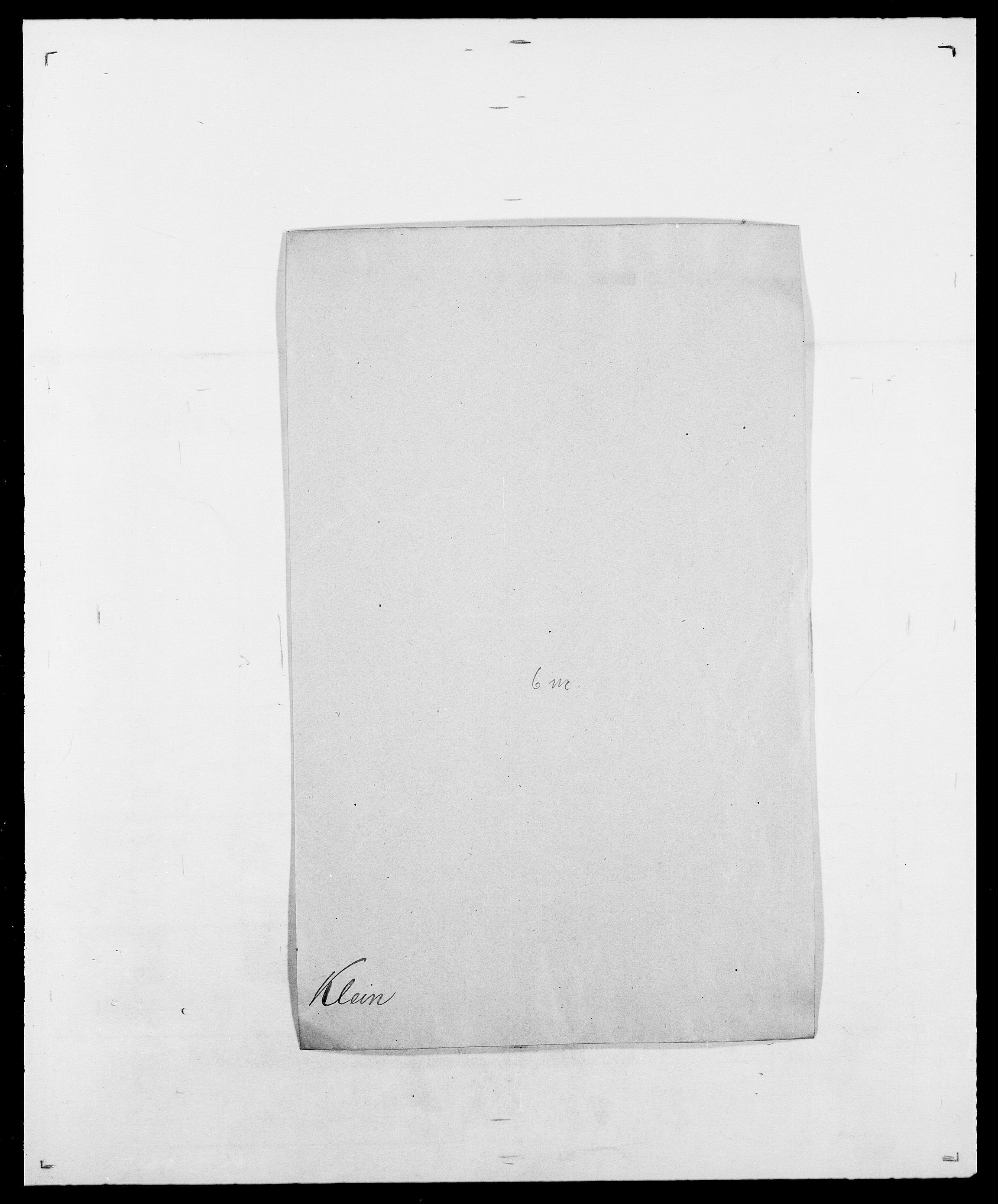 SAO, Delgobe, Charles Antoine - samling, D/Da/L0021: Klagenberg - Kristoft, s. 20