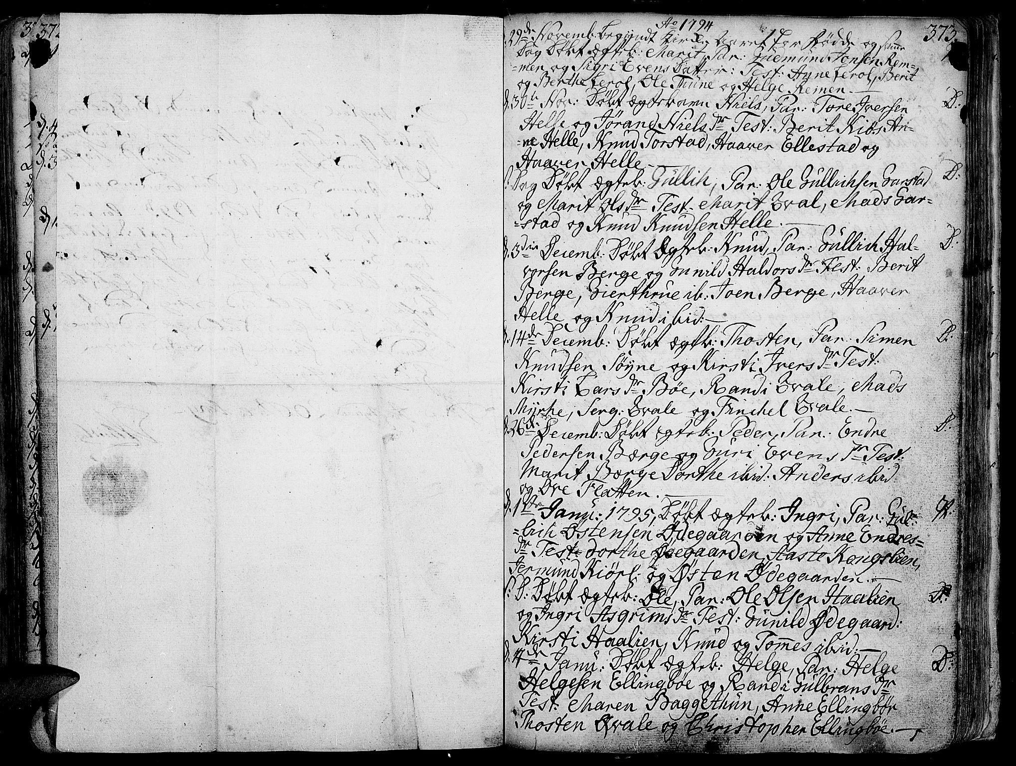 SAH, Vang prestekontor, Valdres, Ministerialbok nr. 1, 1730-1796, s. 373