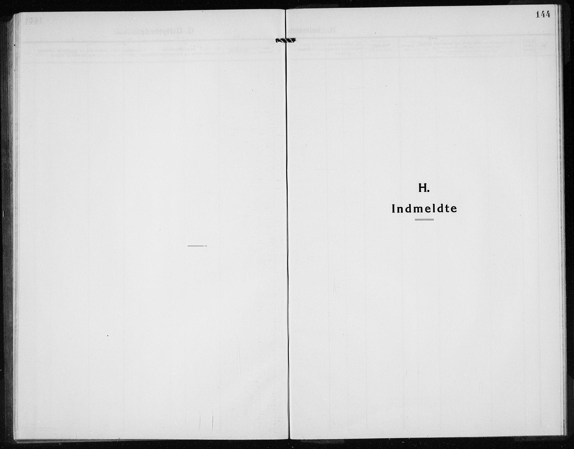 SAB, Kvinnherad Sokneprestembete, H/Haa: Ministerialbok nr. G  1, 1920-1927, s. 144