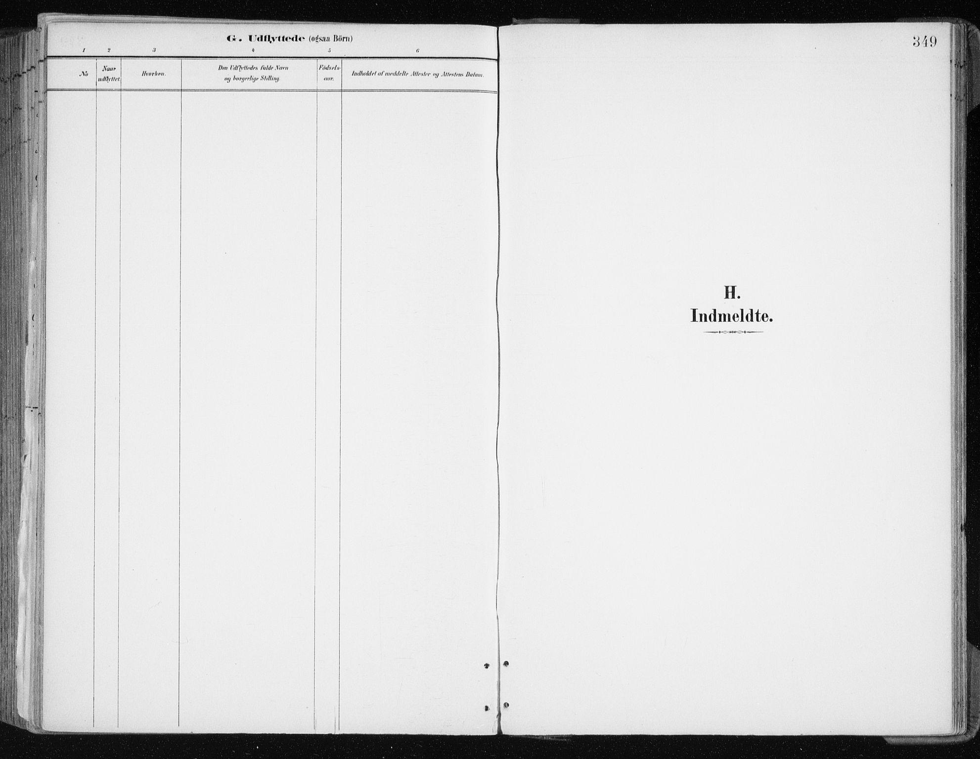 SATØ, Tromsøysund sokneprestkontor, G/Ga/L0005kirke: Ministerialbok nr. 5, 1888-1896, s. 349