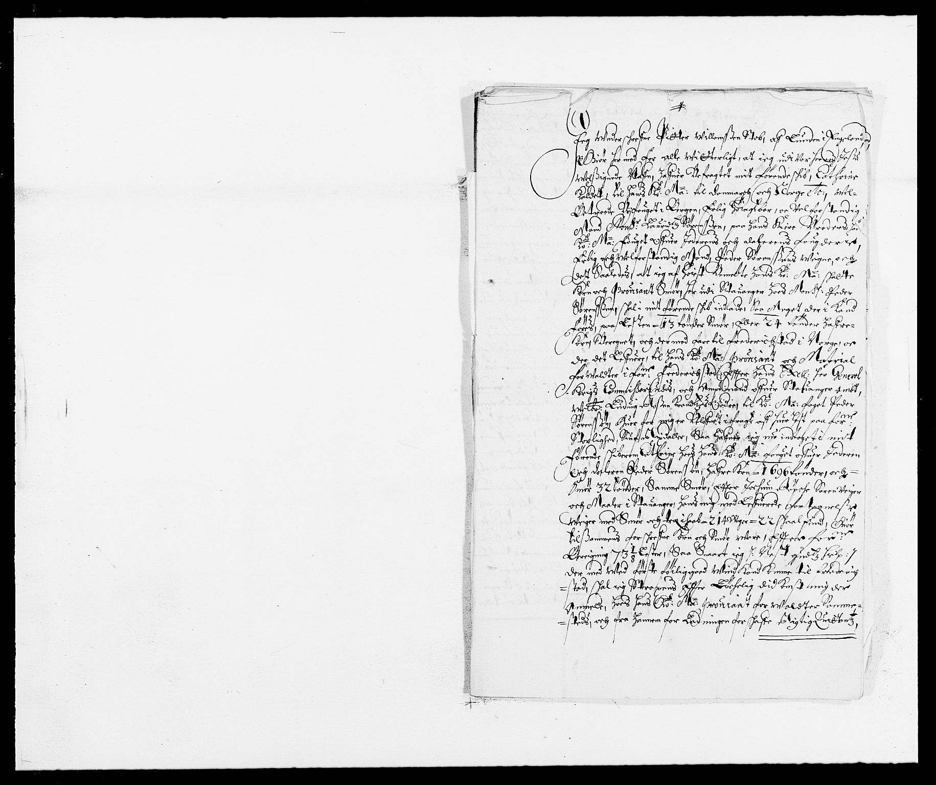 RA, Rentekammeret inntil 1814, Reviderte regnskaper, Fogderegnskap, R46/L2717: Fogderegnskap Jæren og Dalane, 1677, s. 315