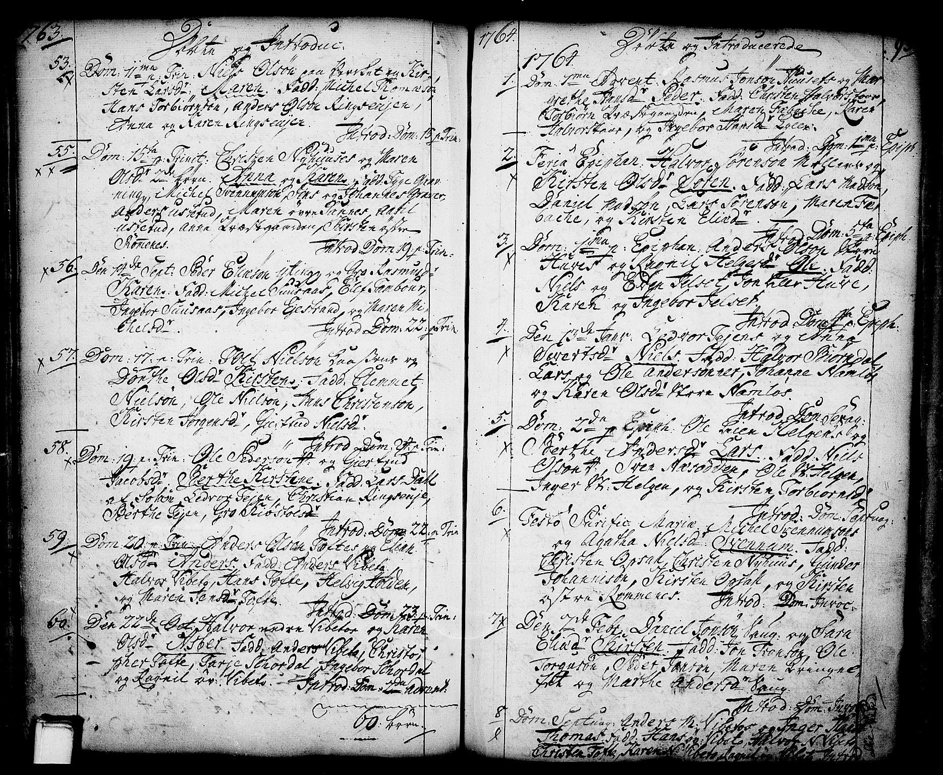 SAKO, Holla kirkebøker, F/Fa/L0001: Ministerialbok nr. 1, 1717-1779, s. 93