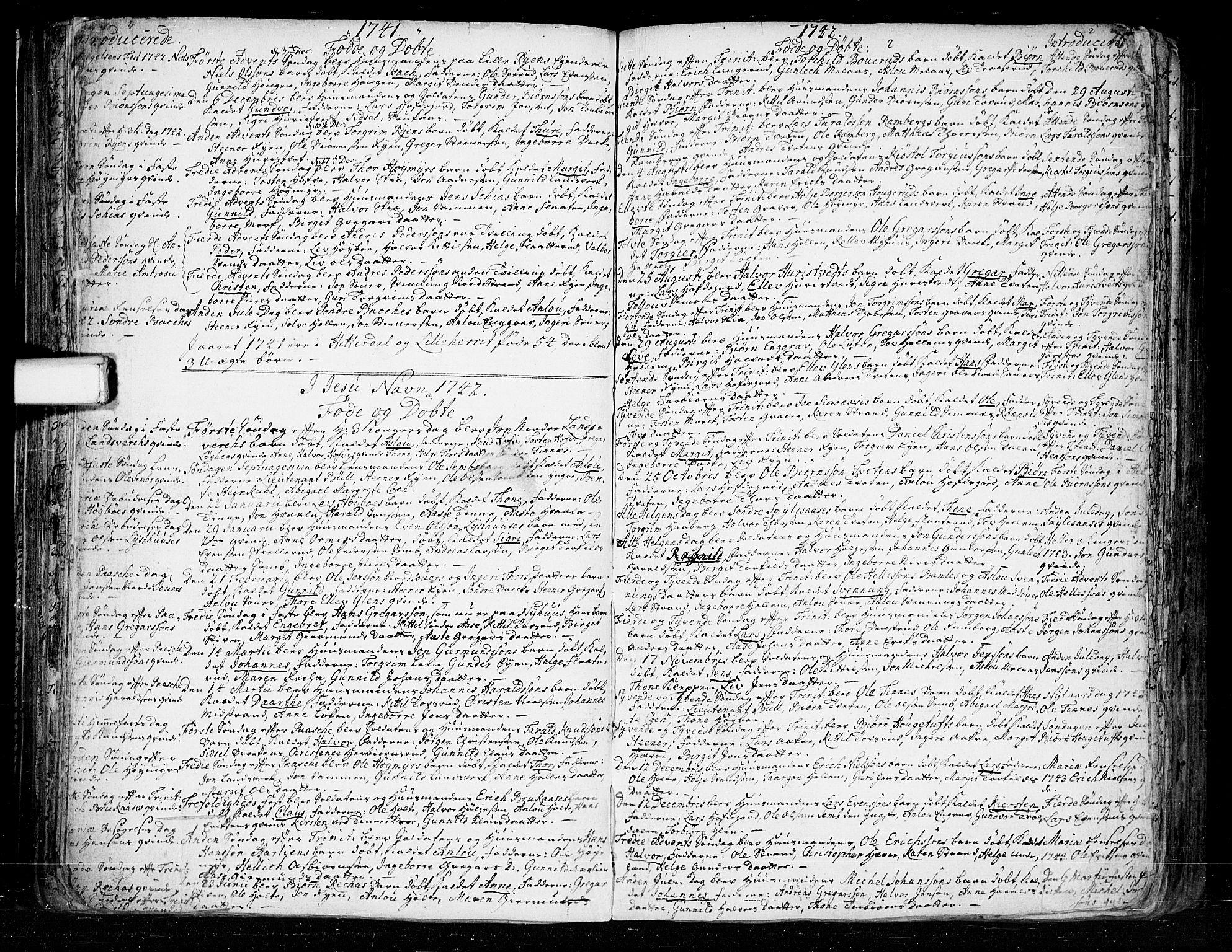 SAKO, Heddal kirkebøker, F/Fa/L0003: Ministerialbok nr. I 3, 1723-1783, s. 75
