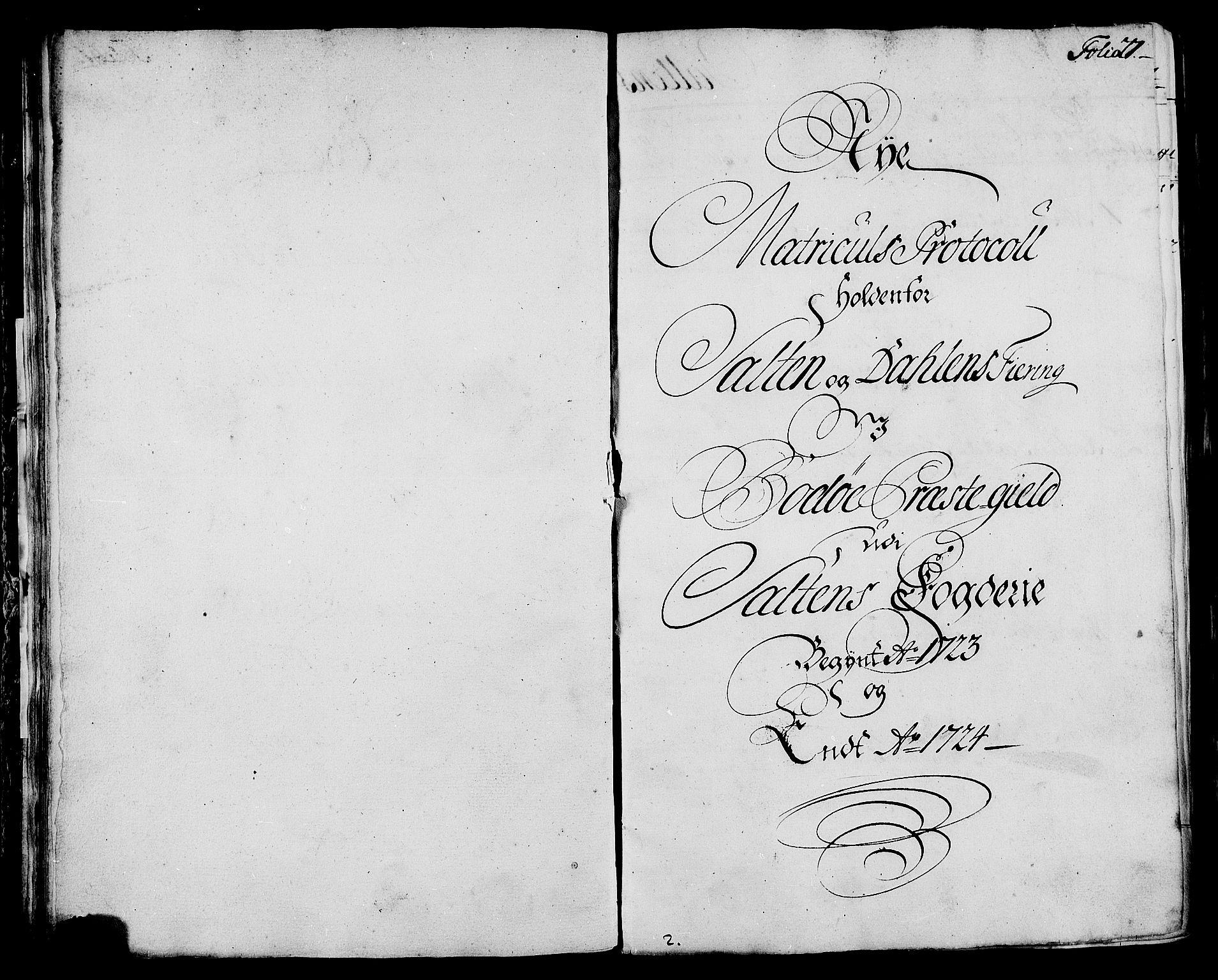 RA, Rentekammeret inntil 1814, Realistisk ordnet avdeling, N/Nb/Nbf/L0172: Salten eksaminasjonsprotokoll, 1723, s. 26b-27a