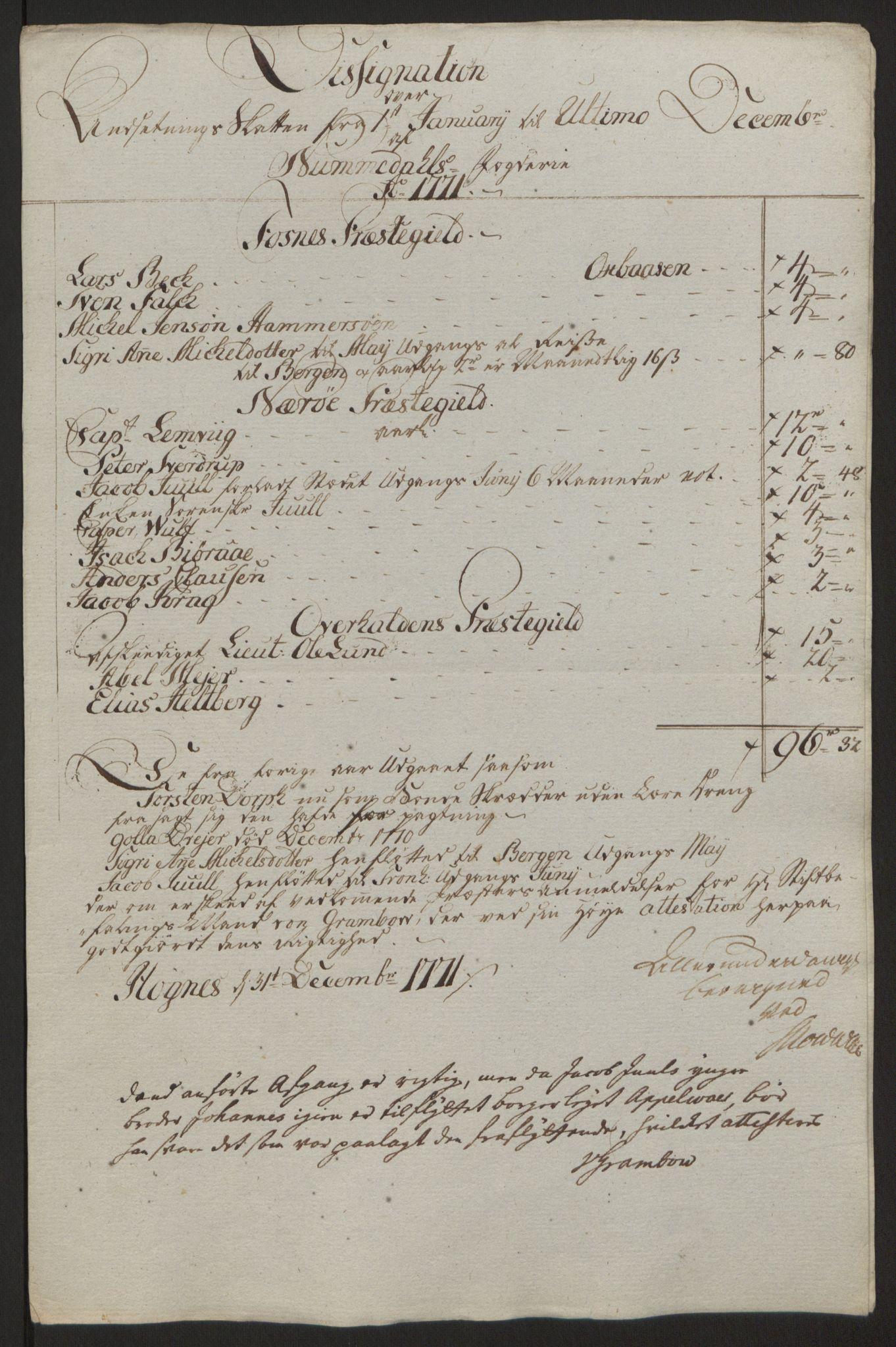 RA, Rentekammeret inntil 1814, Reviderte regnskaper, Fogderegnskap, R64/L4502: Ekstraskatten Namdal, 1762-1772, s. 404