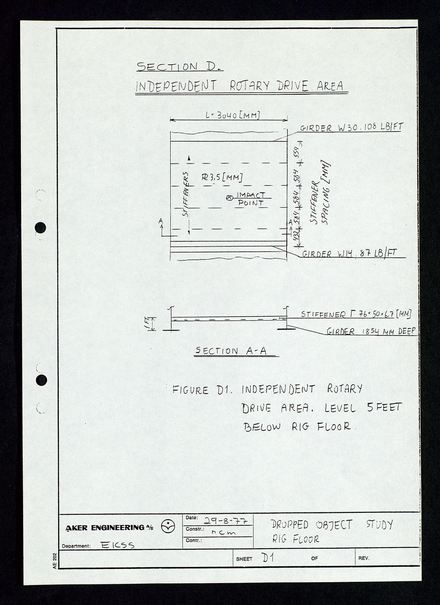 SAST, Pa 1339 - Statoil ASA, D/Dm/L0348: Gravitasjonsplattform betong, 1975-1978, s. 159