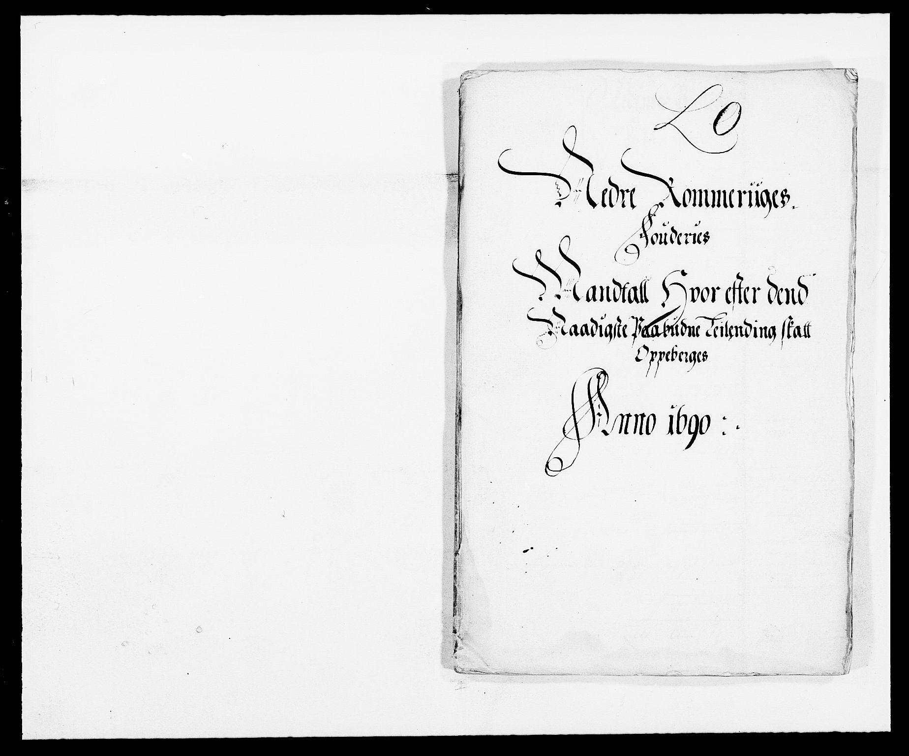 RA, Rentekammeret inntil 1814, Reviderte regnskaper, Fogderegnskap, R11/L0574: Fogderegnskap Nedre Romerike, 1689-1690, s. 260