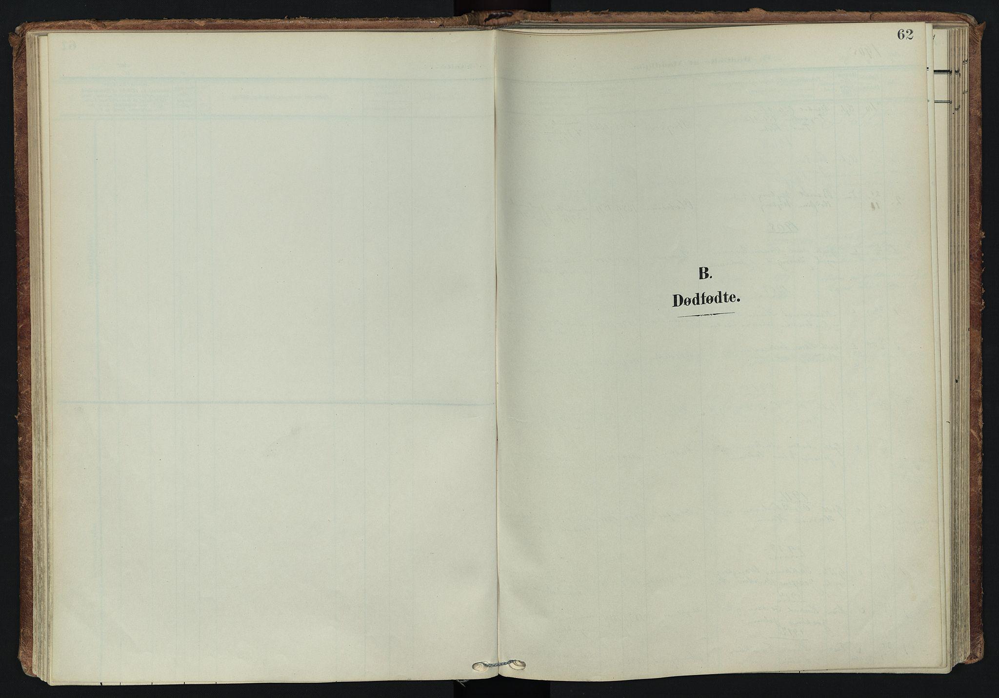 SATØ, Tranøy sokneprestkontor, I/Ia/Iaa/L0014kirke: Ministerialbok nr. 14, 1905-1919, s. 62