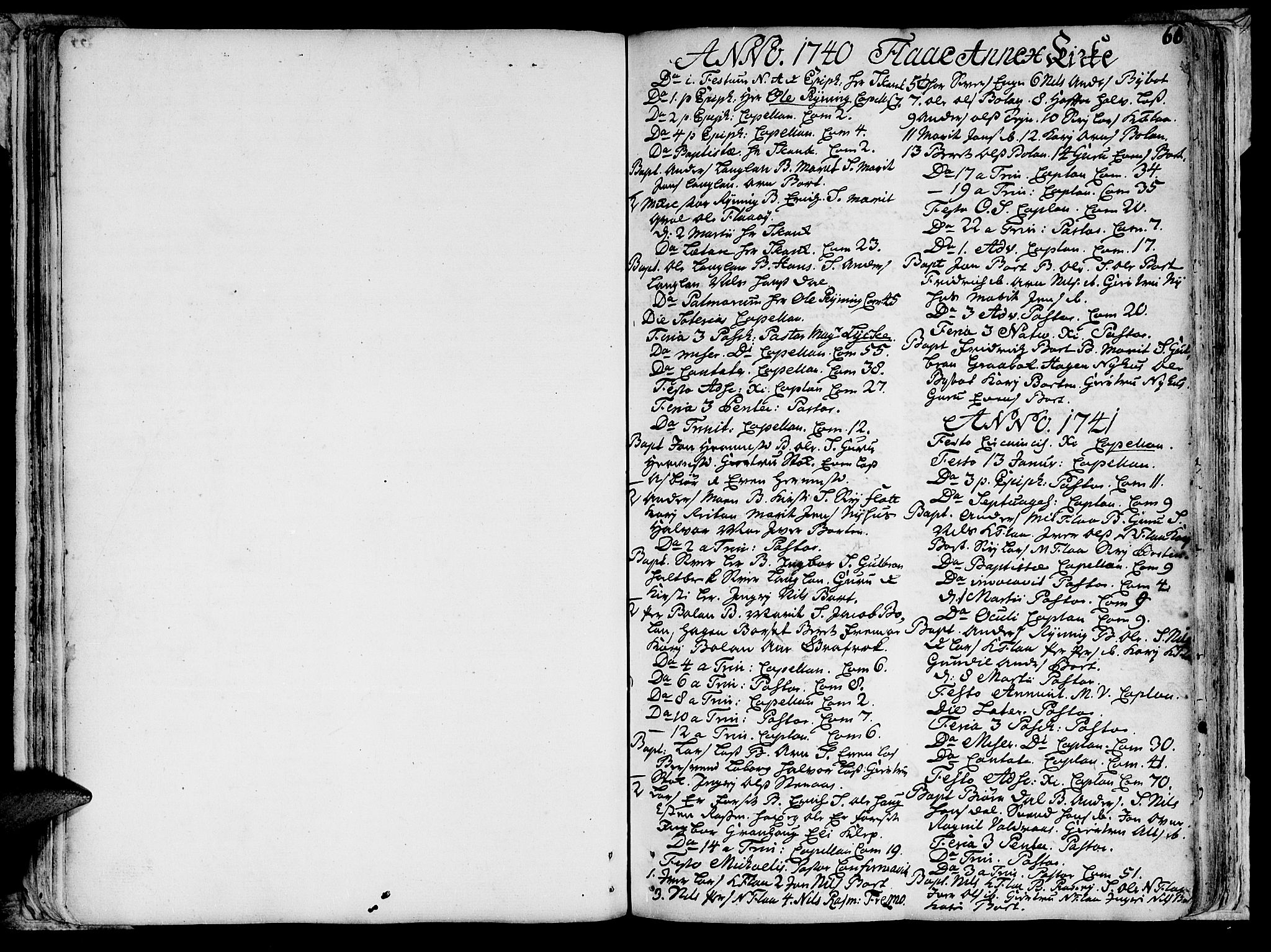 SAT, Ministerialprotokoller, klokkerbøker og fødselsregistre - Sør-Trøndelag, 691/L1058: Ministerialbok nr. 691A01 /2, 1740-1767, s. 66