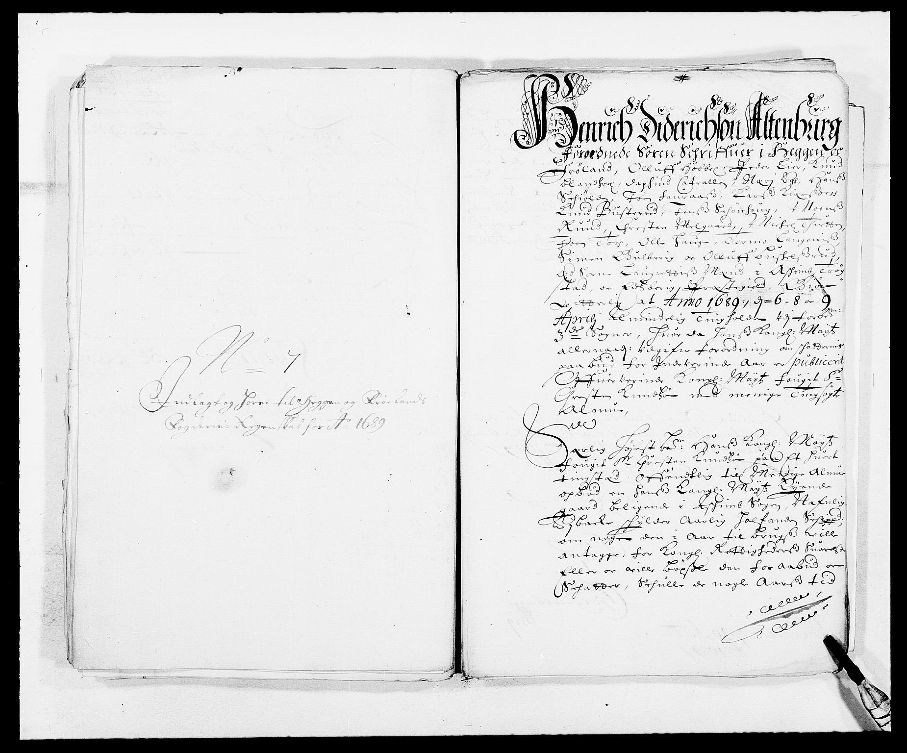 RA, Rentekammeret inntil 1814, Reviderte regnskaper, Fogderegnskap, R06/L0282: Fogderegnskap Heggen og Frøland, 1687-1690, s. 172
