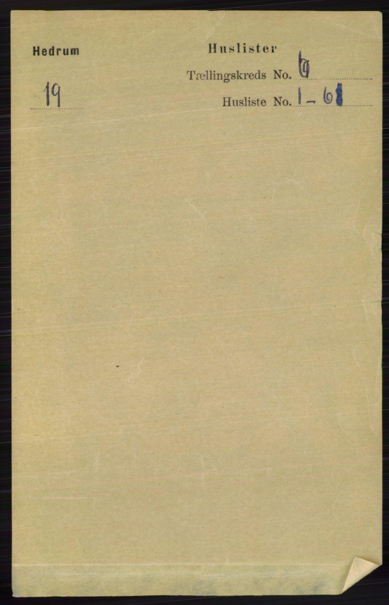 RA, Folketelling 1891 for 0727 Hedrum herred, 1891, s. 2476