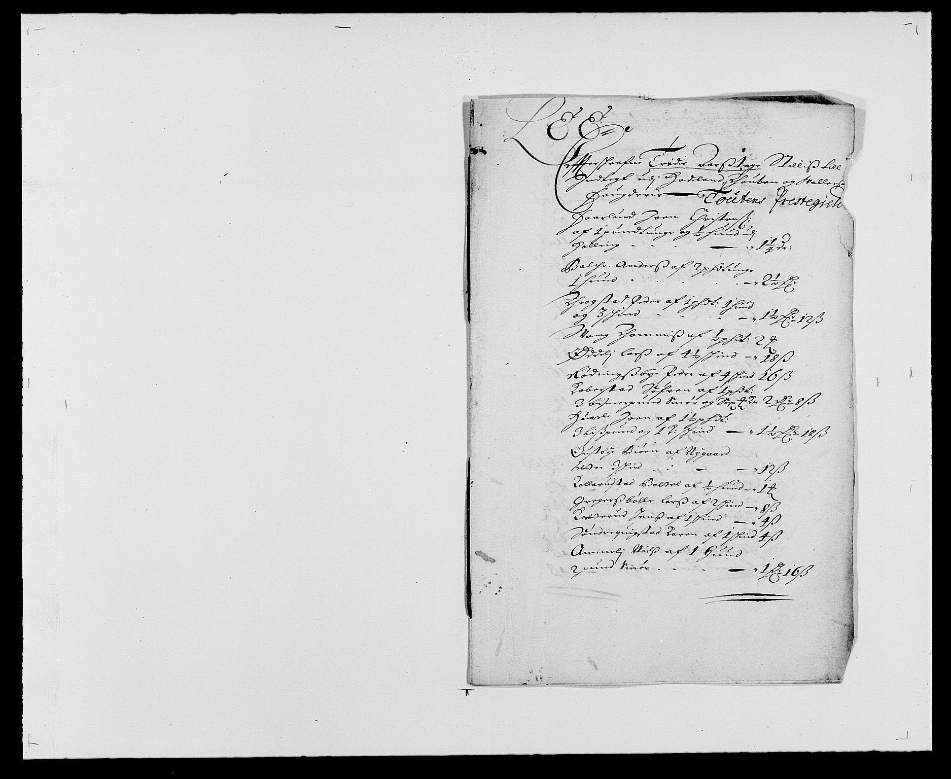 RA, Rentekammeret inntil 1814, Reviderte regnskaper, Fogderegnskap, R18/L1275: Fogderegnskap Hadeland, Toten og Valdres, 1680, s. 172