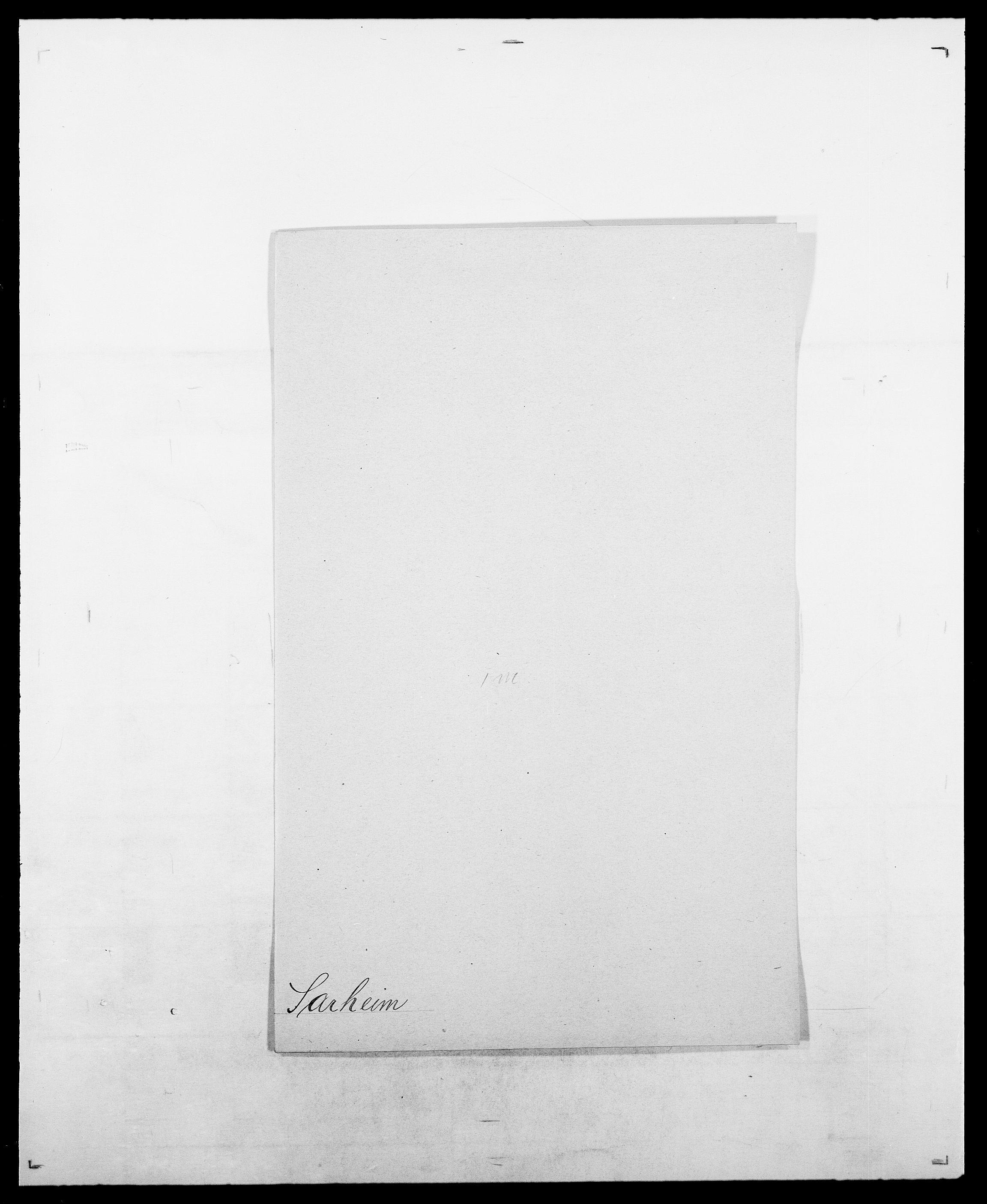 SAO, Delgobe, Charles Antoine - samling, D/Da/L0034: Saabye - Schmincke, s. 205