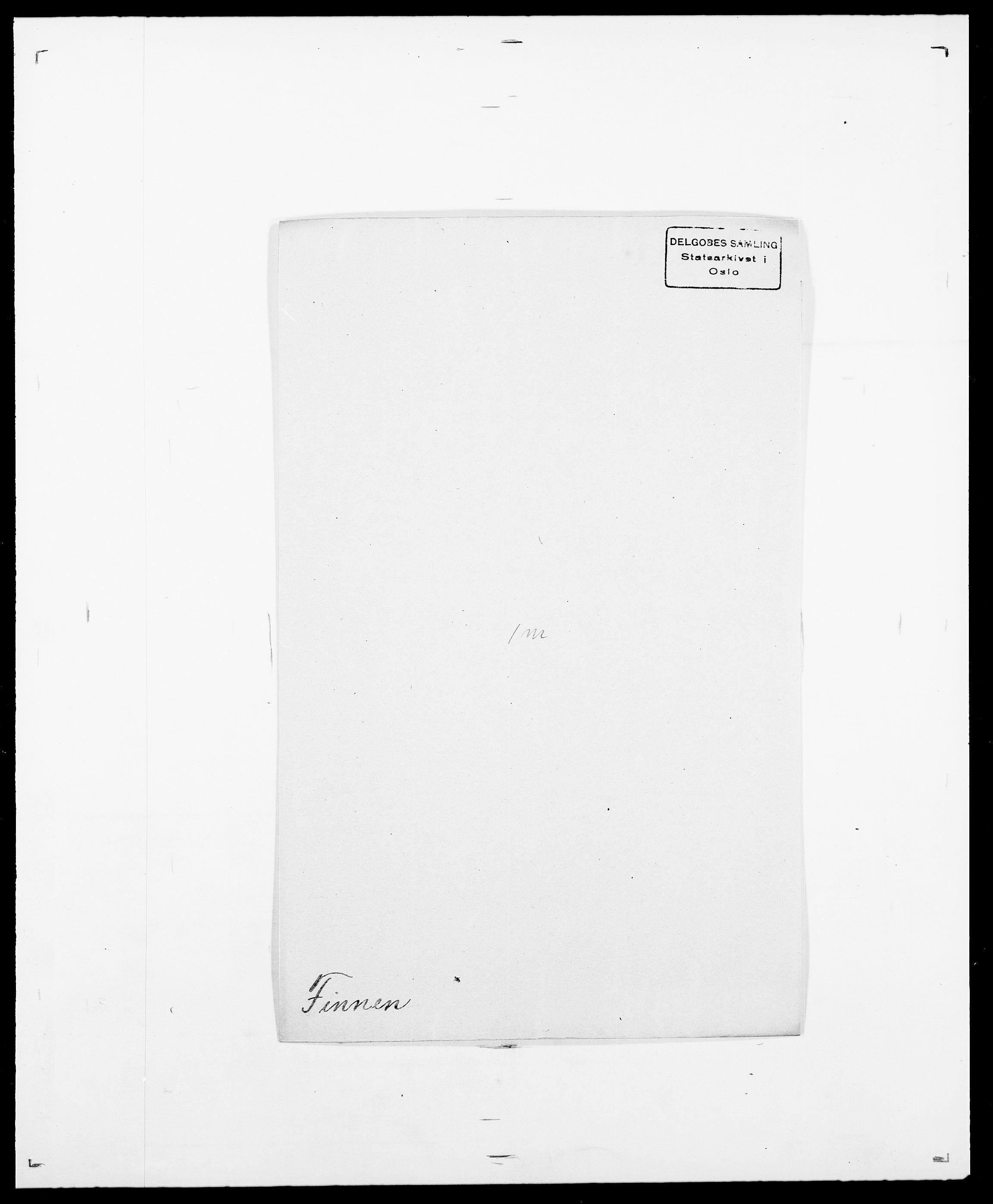 SAO, Delgobe, Charles Antoine - samling, D/Da/L0011: Fahlander - Flood, Flod, s. 508