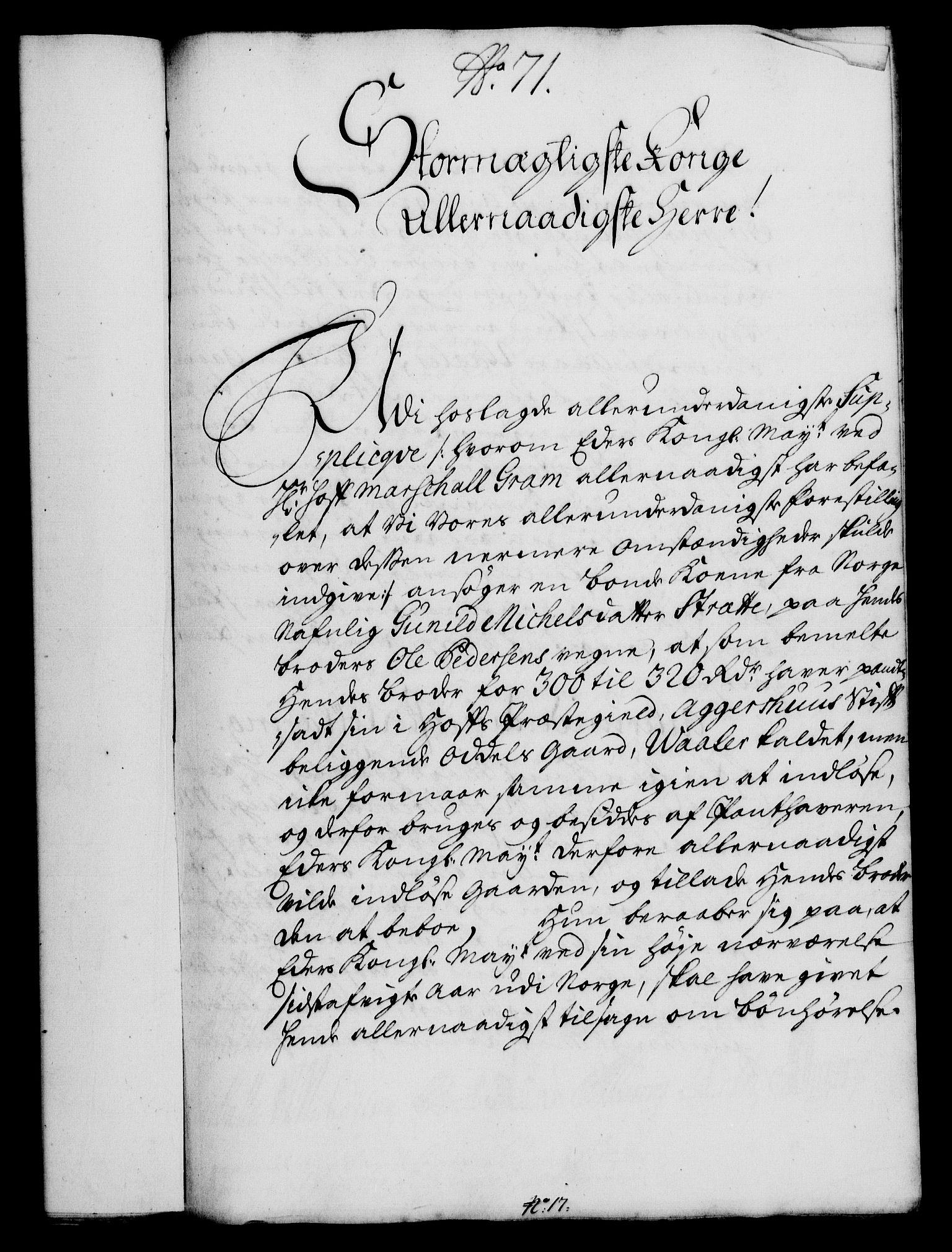 RA, Rentekammeret, Kammerkanselliet, G/Gf/Gfa/L0017: Norsk relasjons- og resolusjonsprotokoll (merket RK 52.17), 1734, s. 370